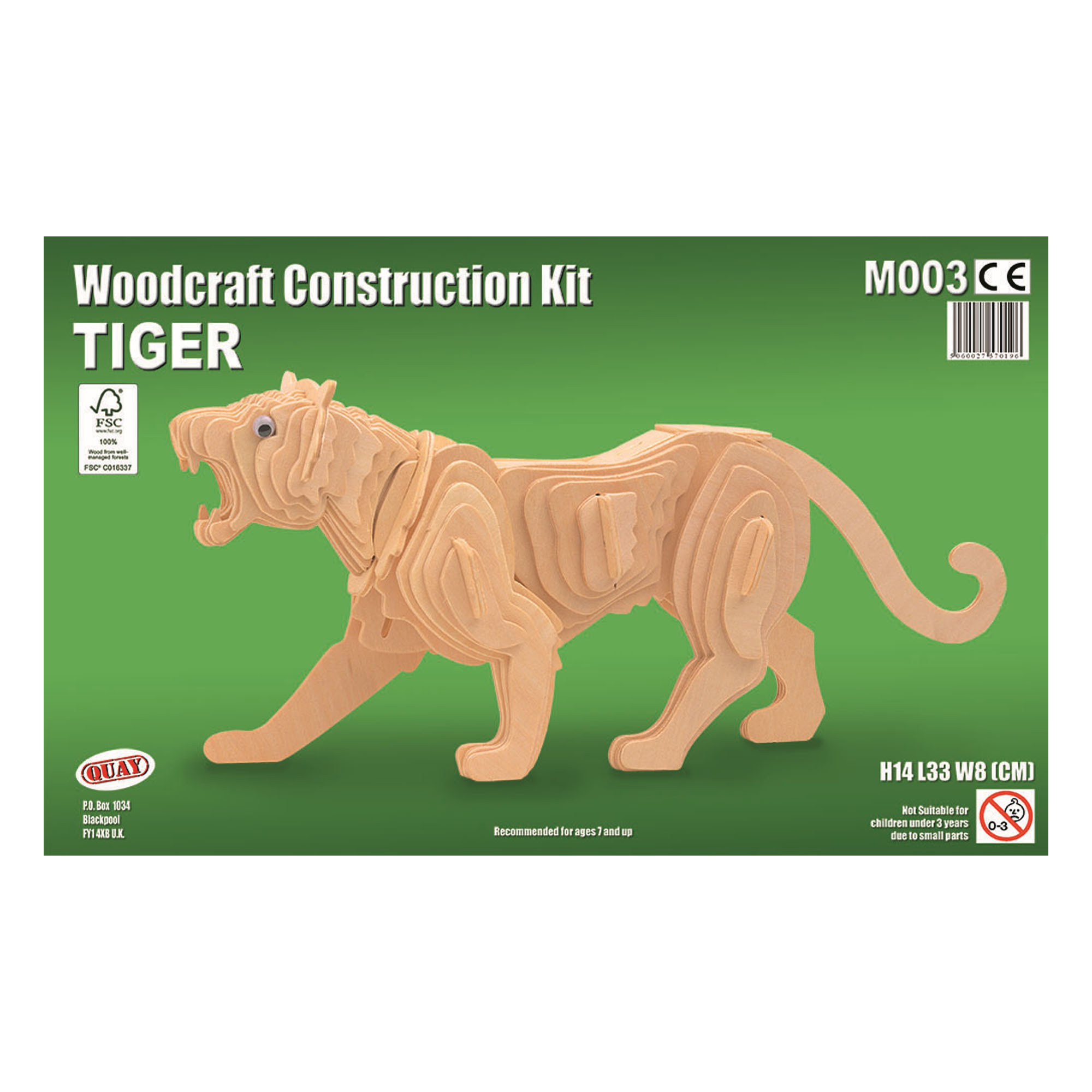 Tiger Construction Kit