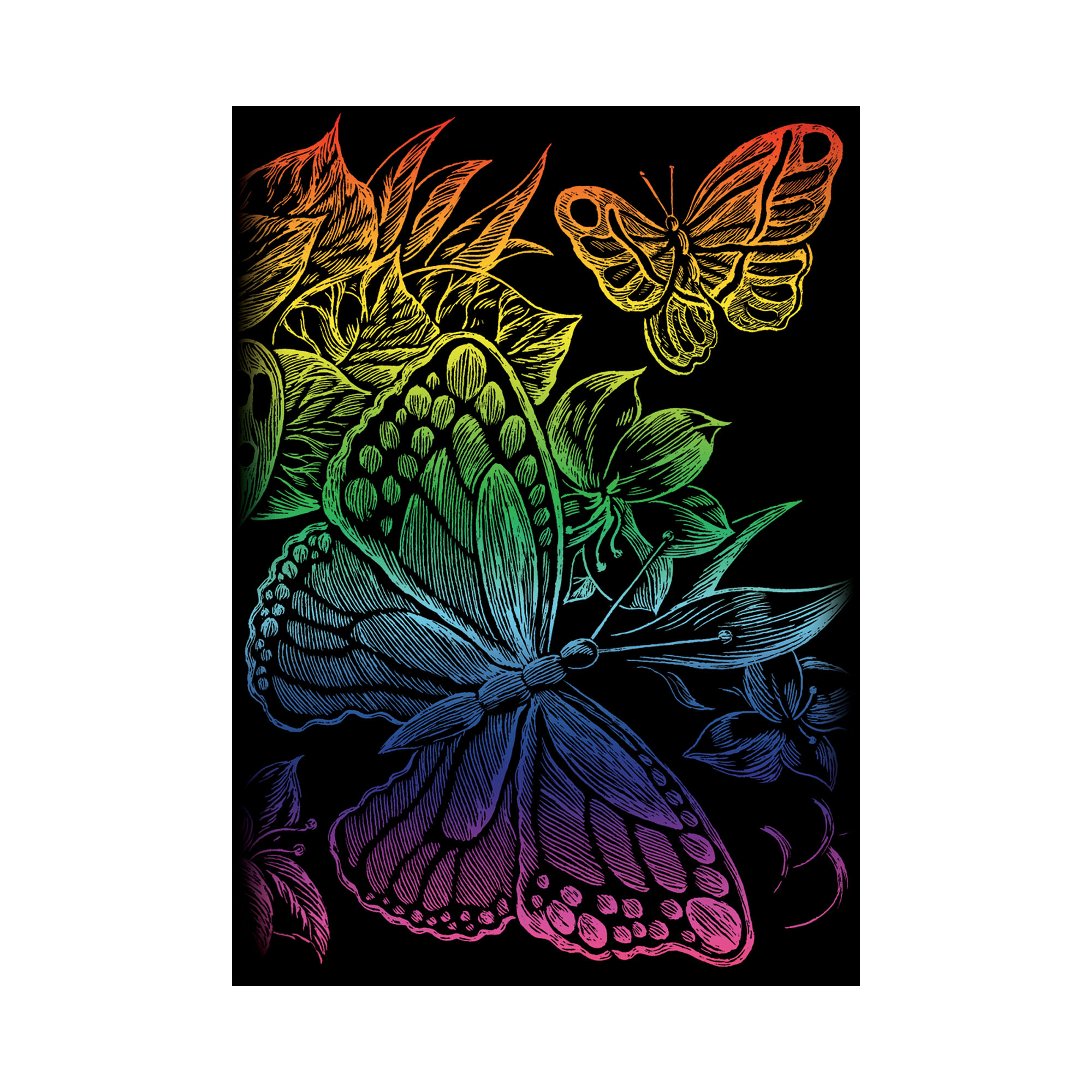 Butterfly engraving kit