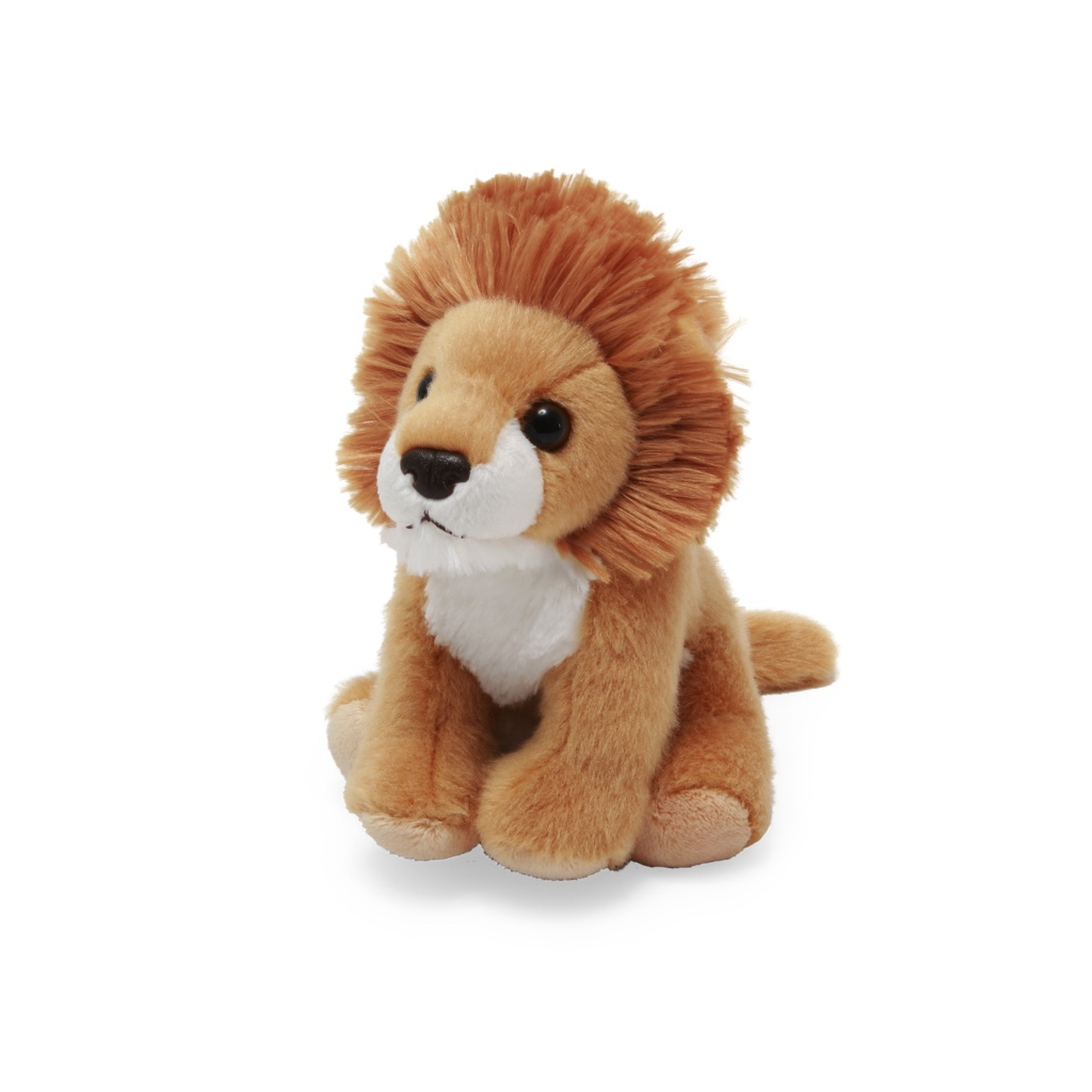 Lion soft toy, 20cm