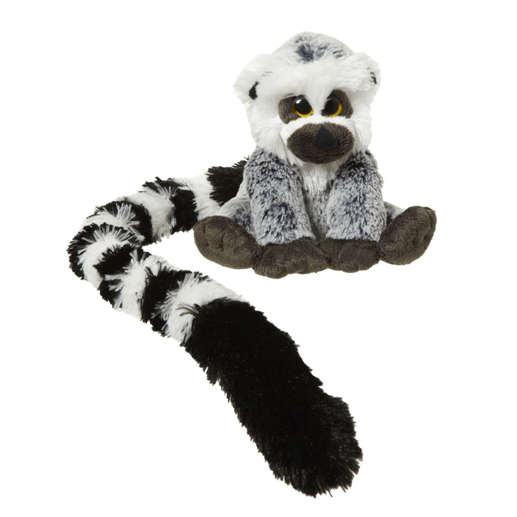Ring-tailed lemur soft toy, 16cm