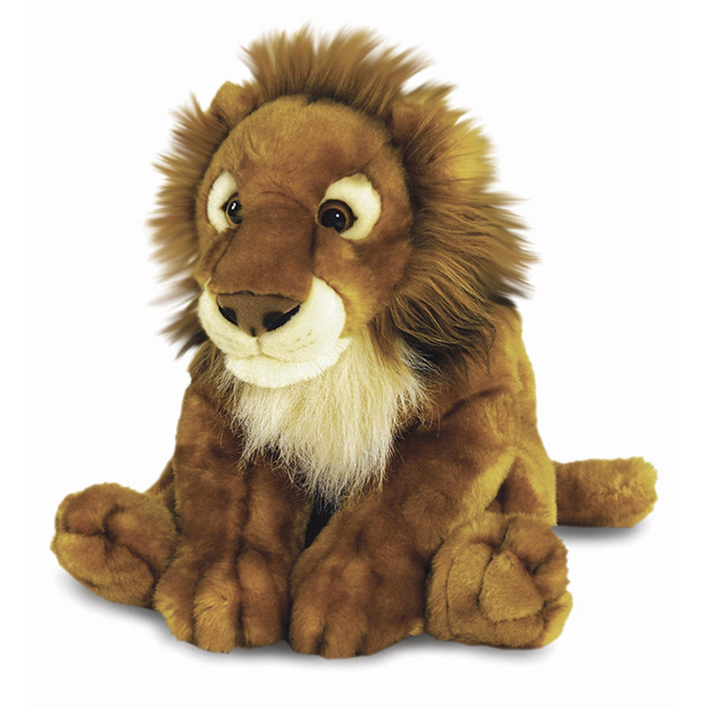 Asian lion soft toy, 58cm