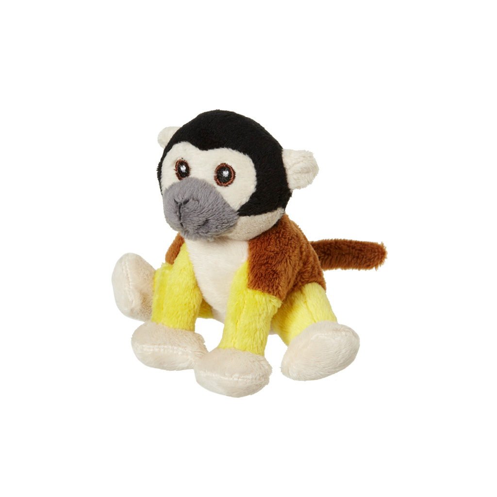 Squirrel monkey beanie, 9cm