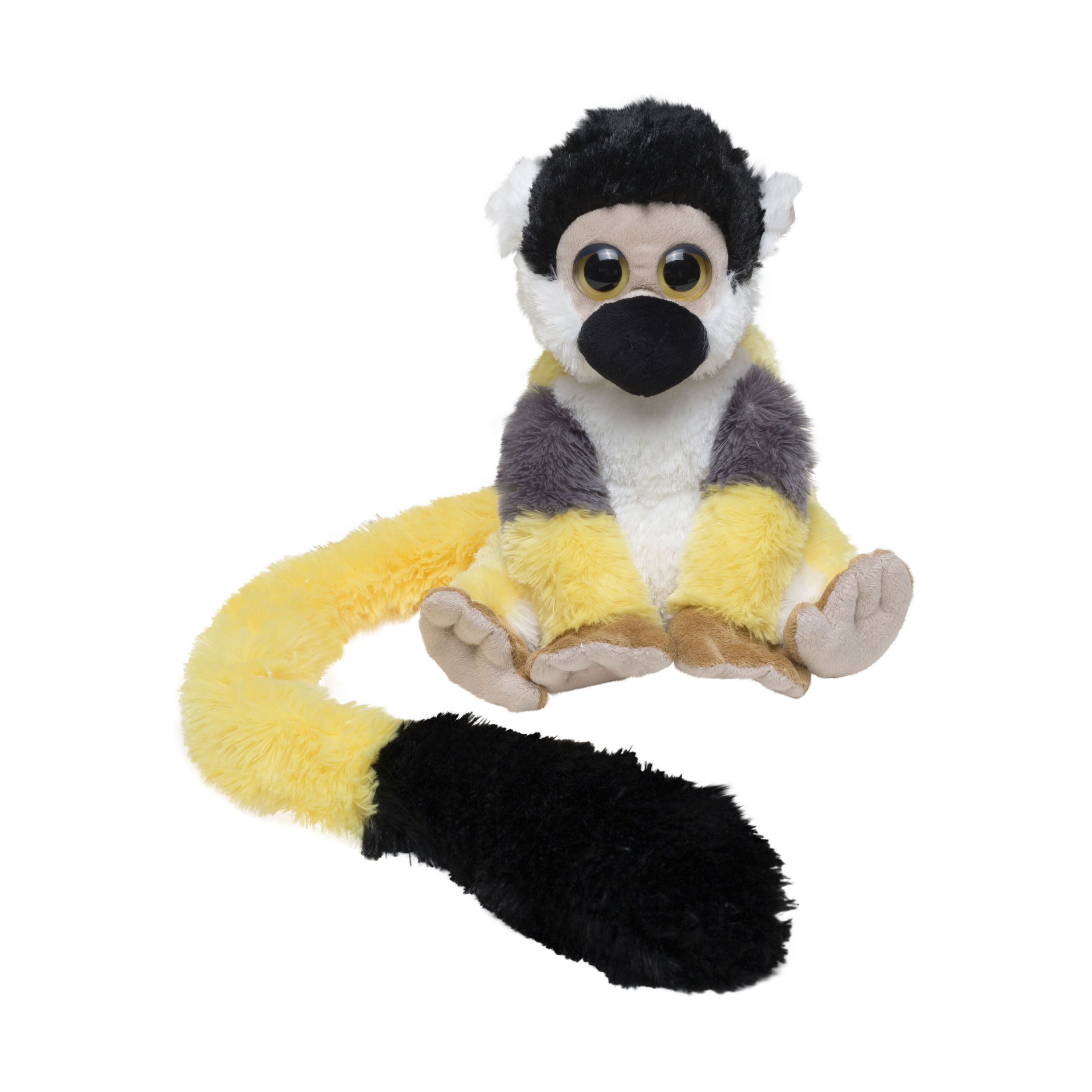 Squirrel monkey soft toy, large