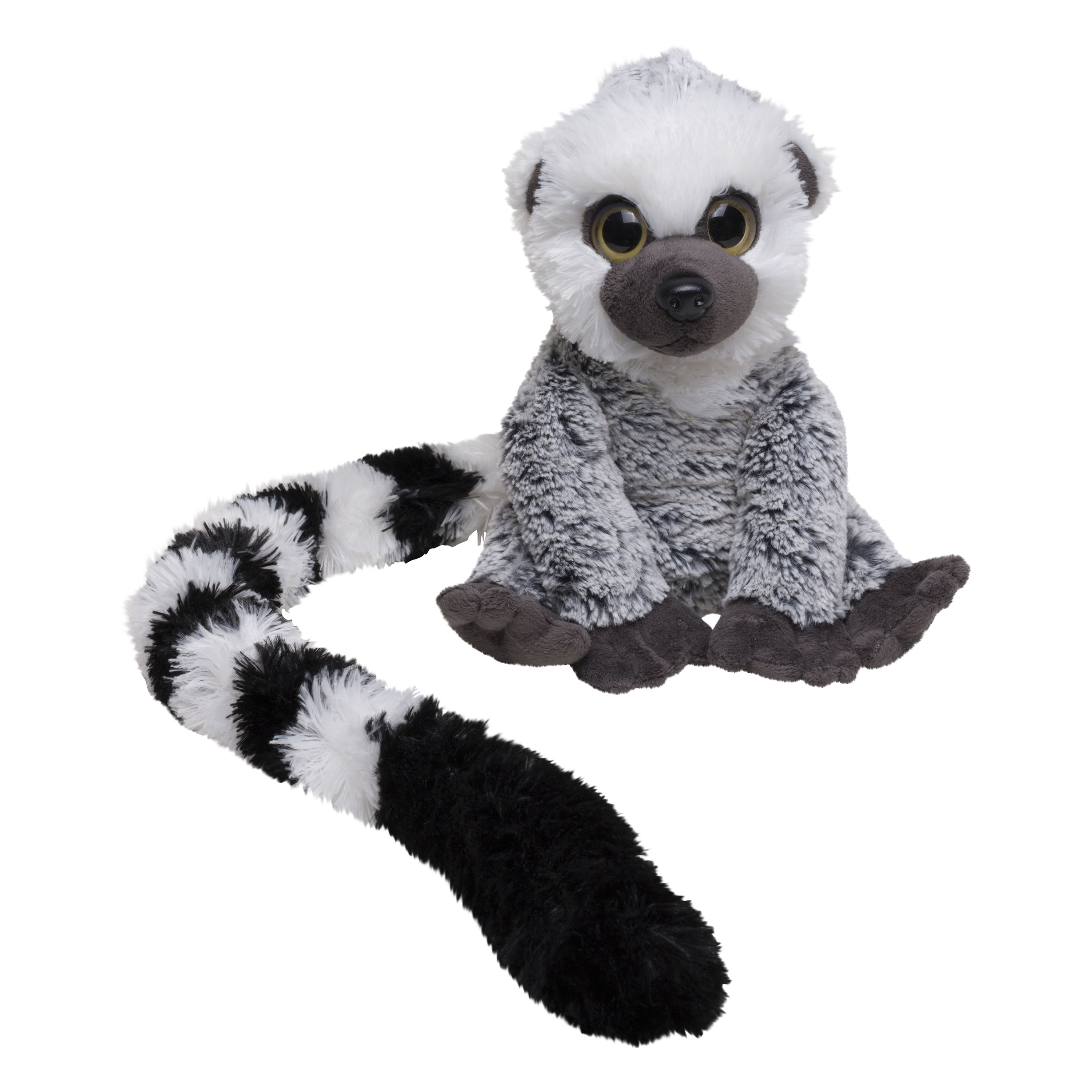 Ring-tailed lemur soft toy, large