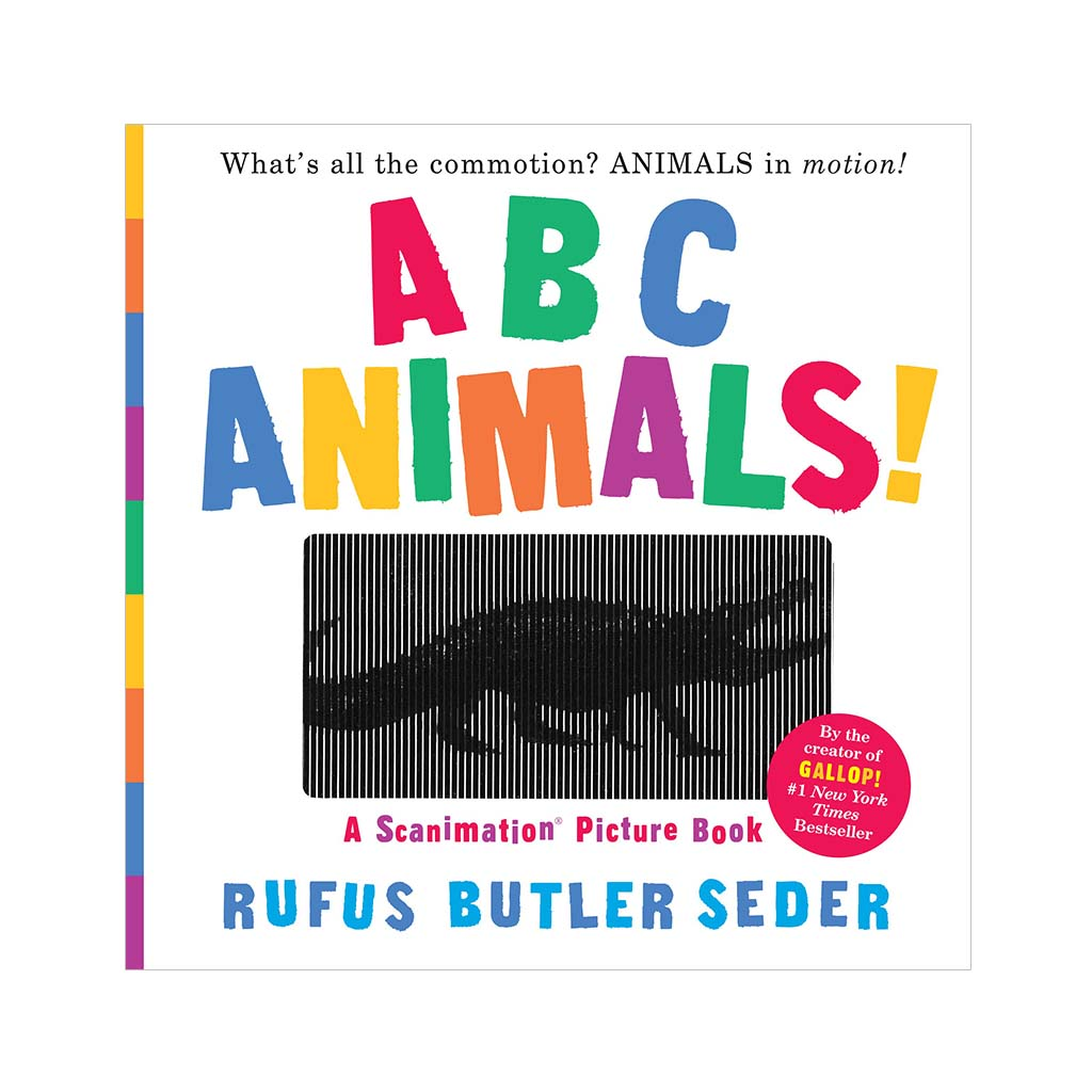 ABC Animals! A Scanimation Picture Book