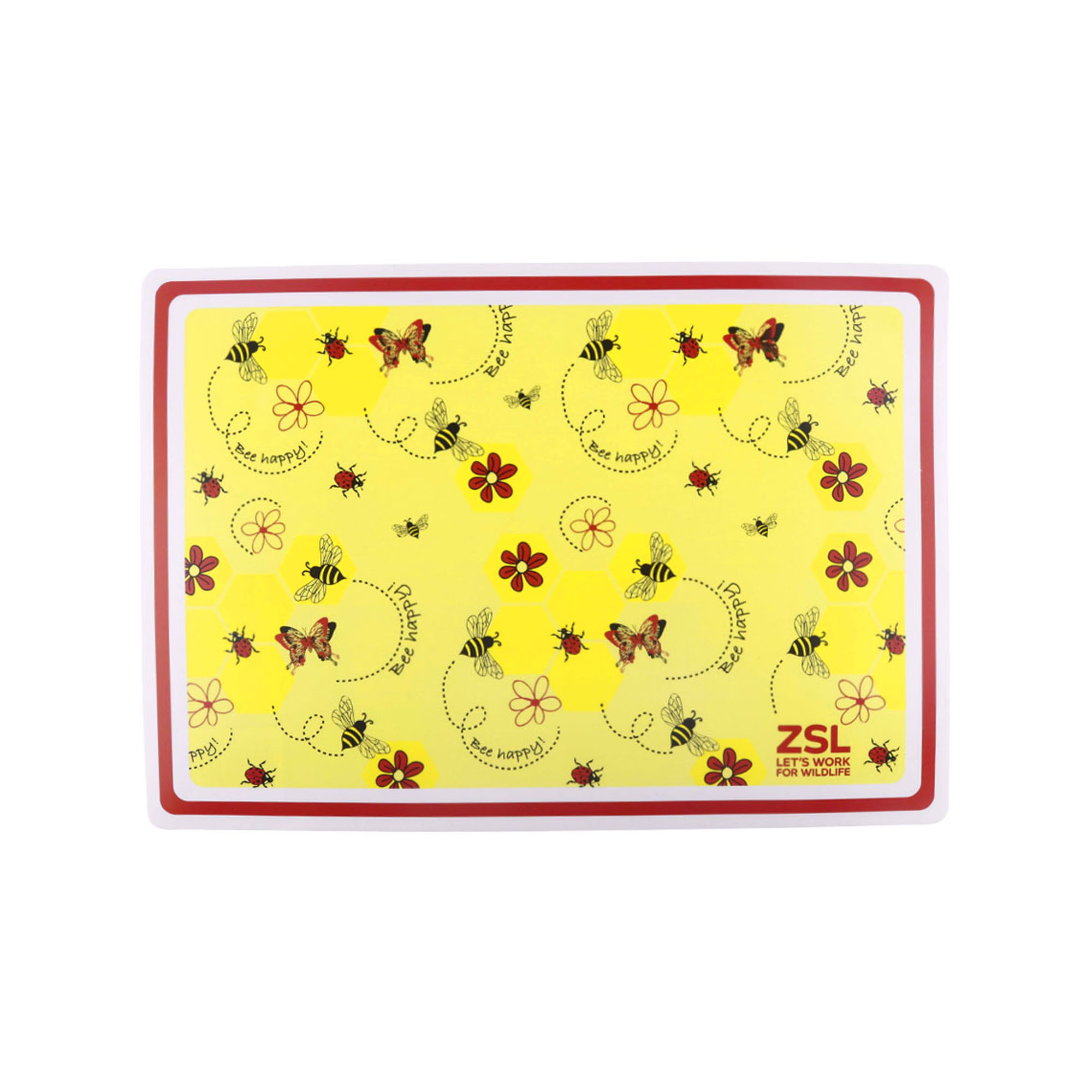 'Bee happy' placemat