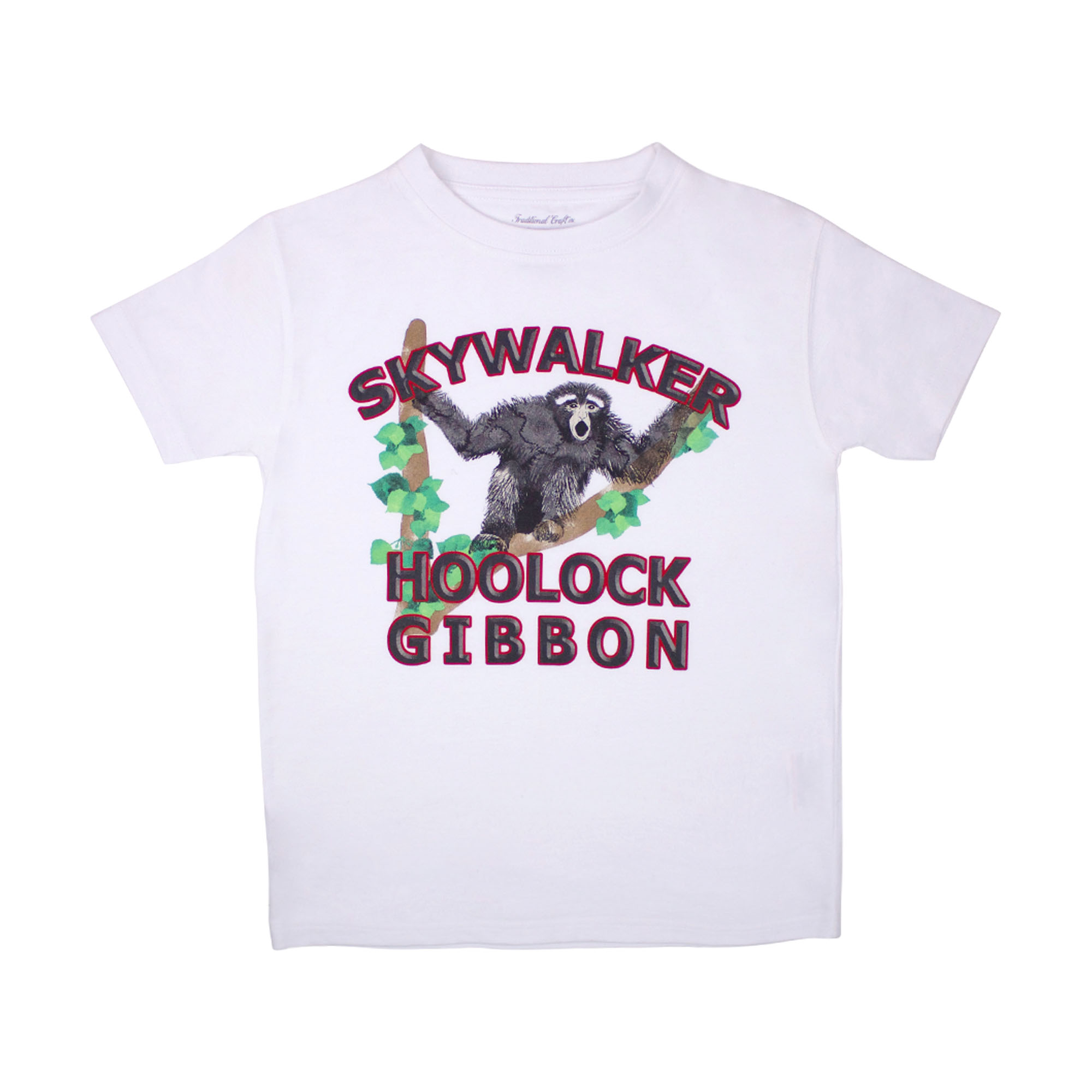 Children's gibbon pyjama t-shirt