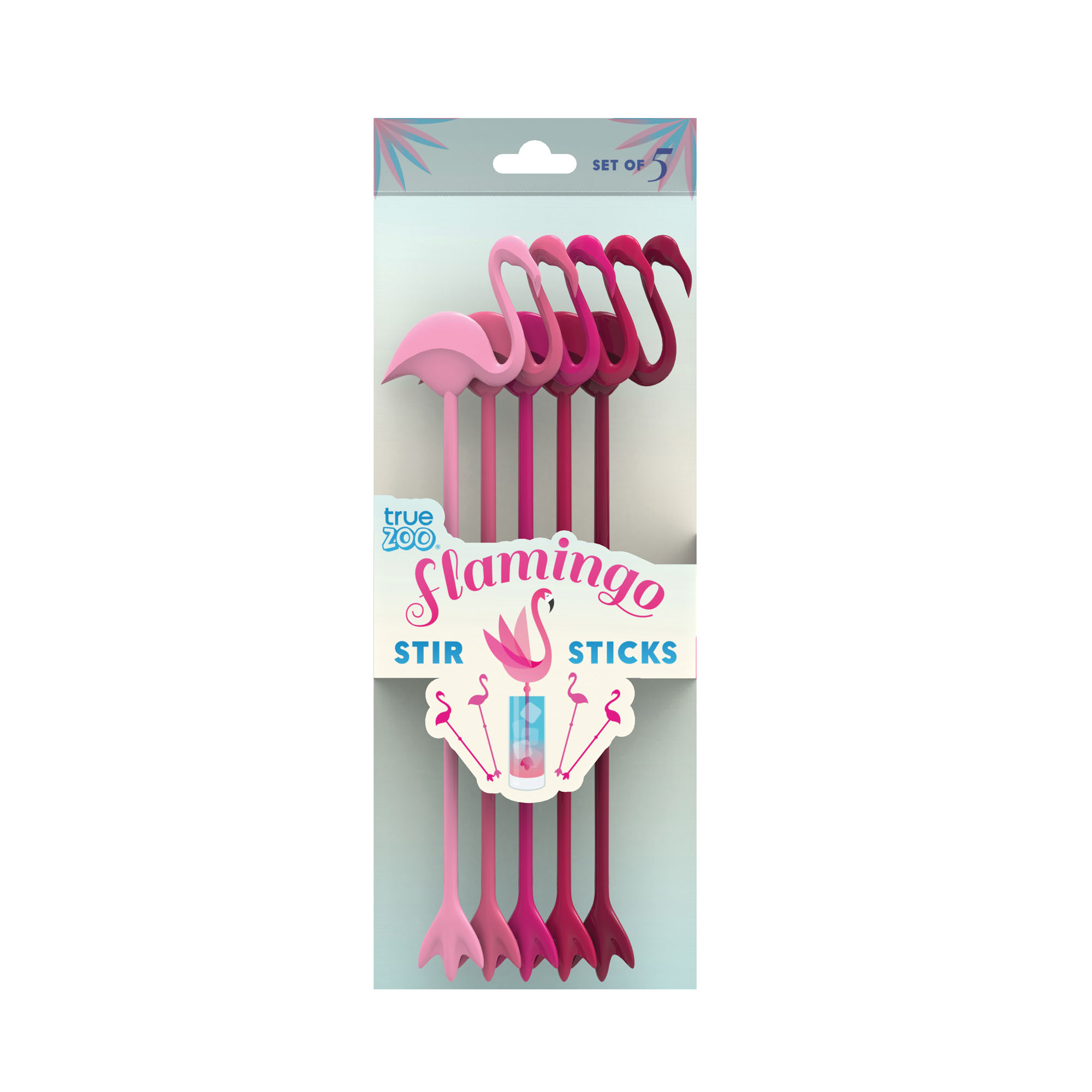 Flamingo stir sticks