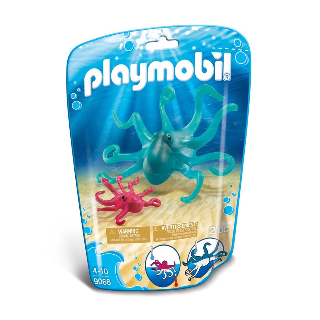 Playmobil Octopus Figures pouch