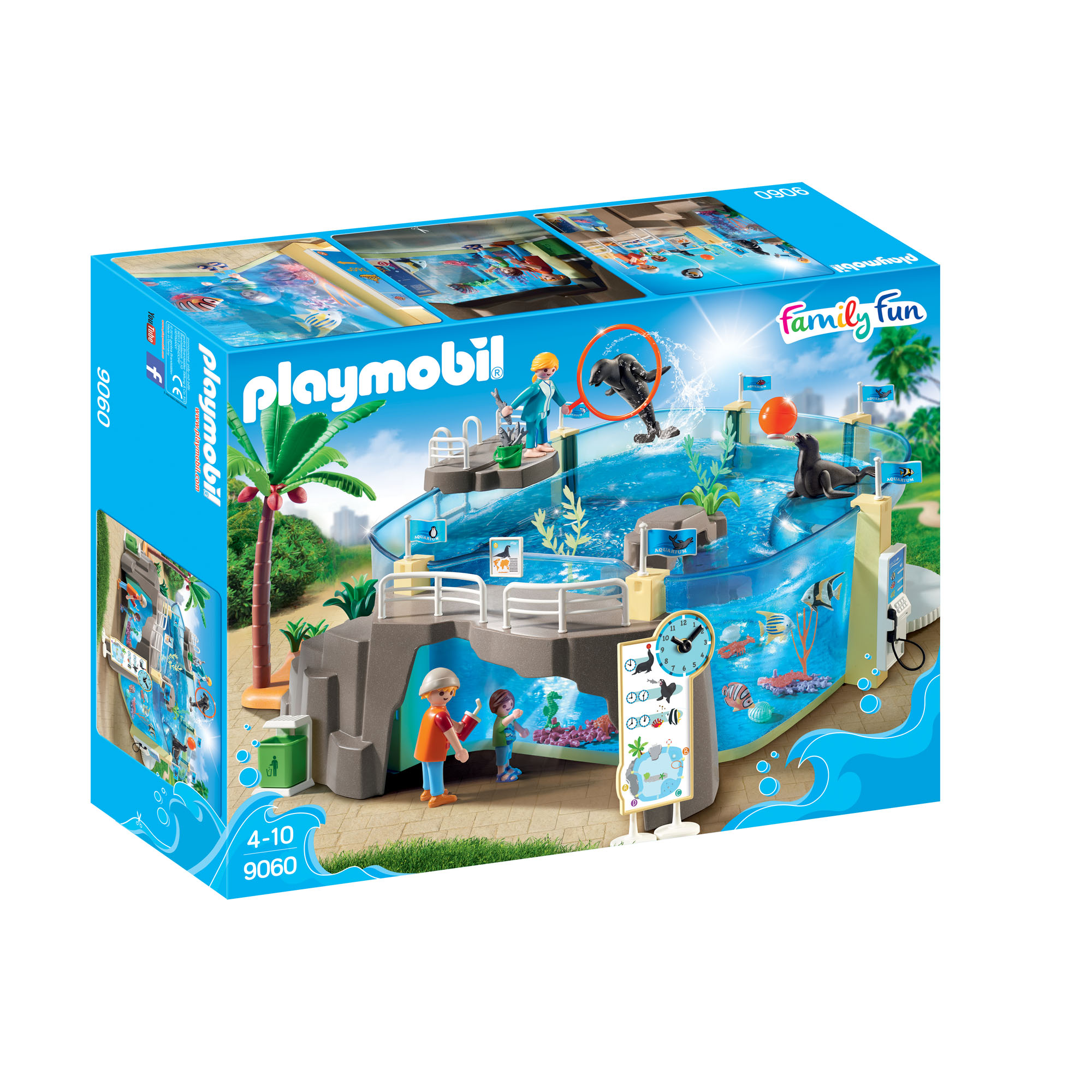 Playmobil Aquarium play set