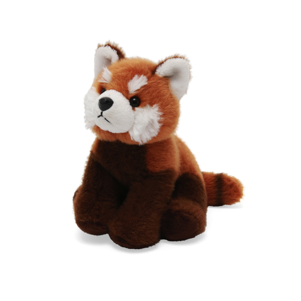 Red panda soft toy, 20cm