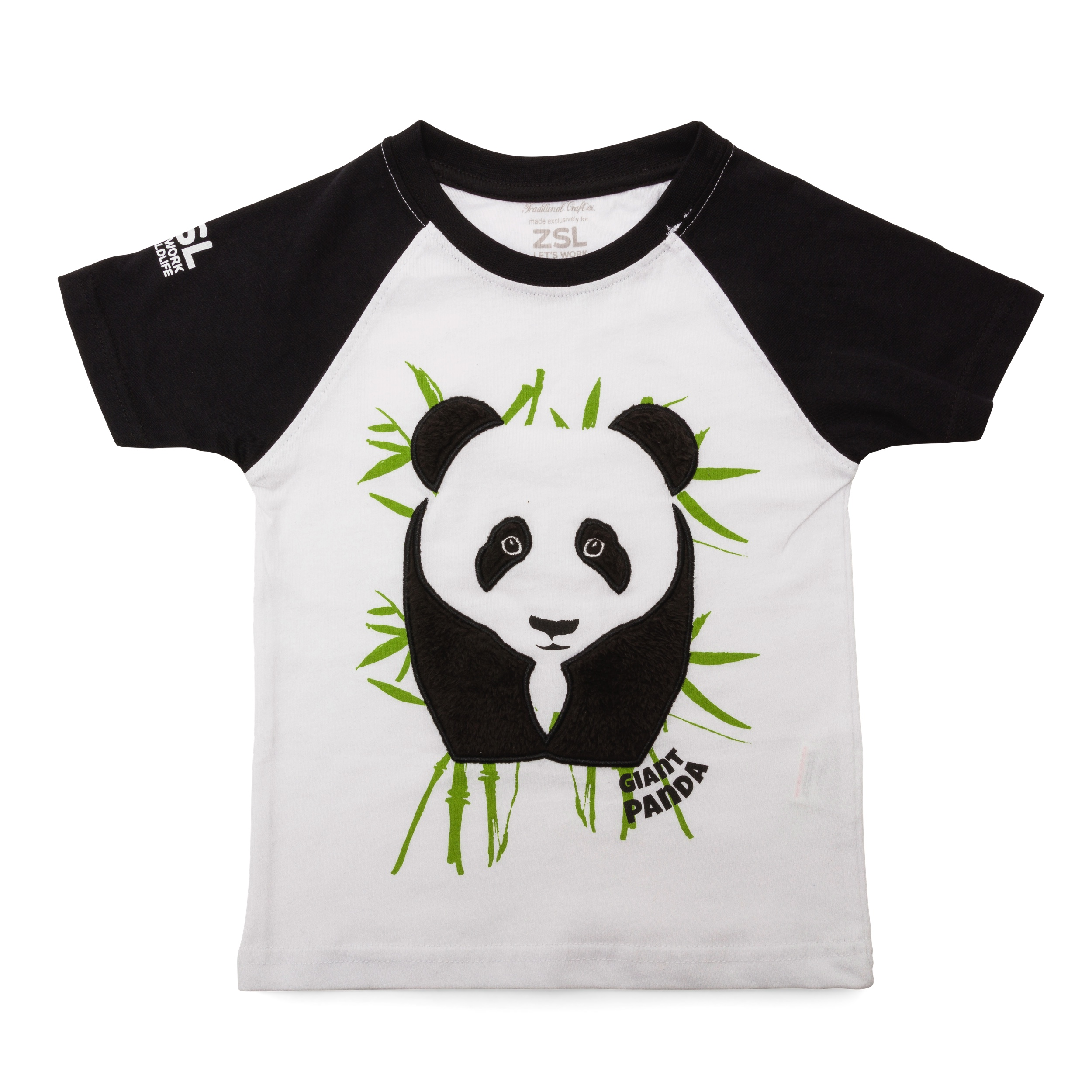 Children's panda t-shirt