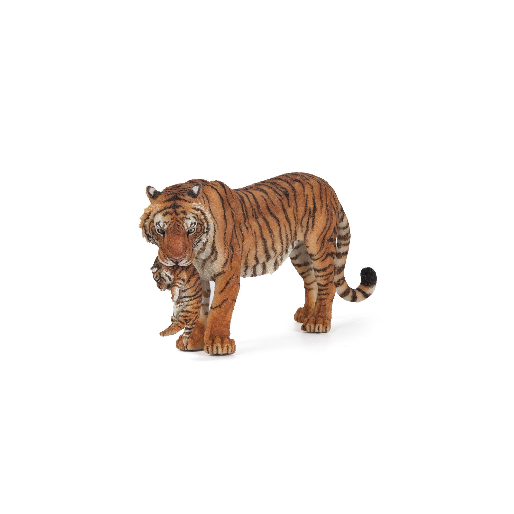 Tiger with cub figure