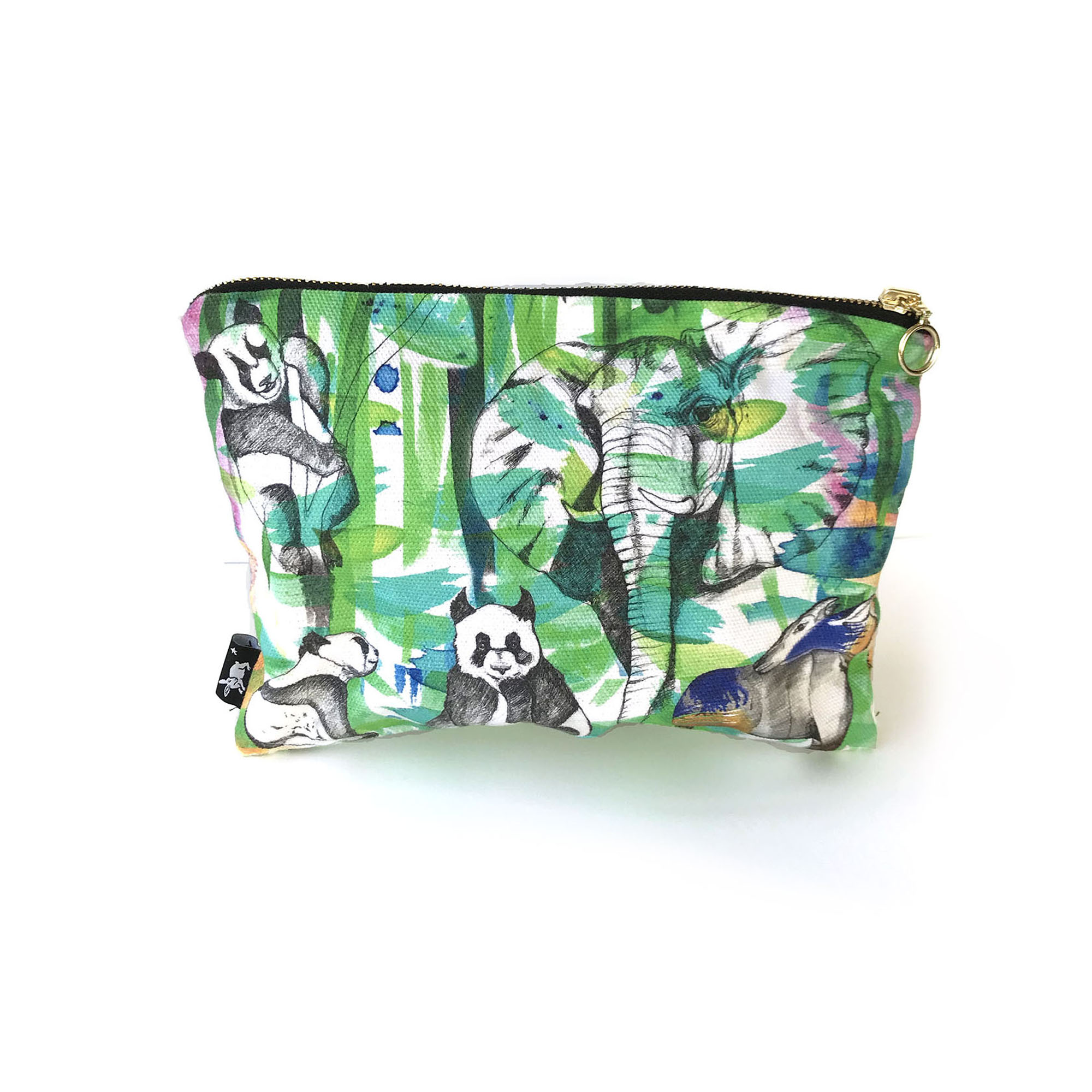 Jungle cosmetic bag