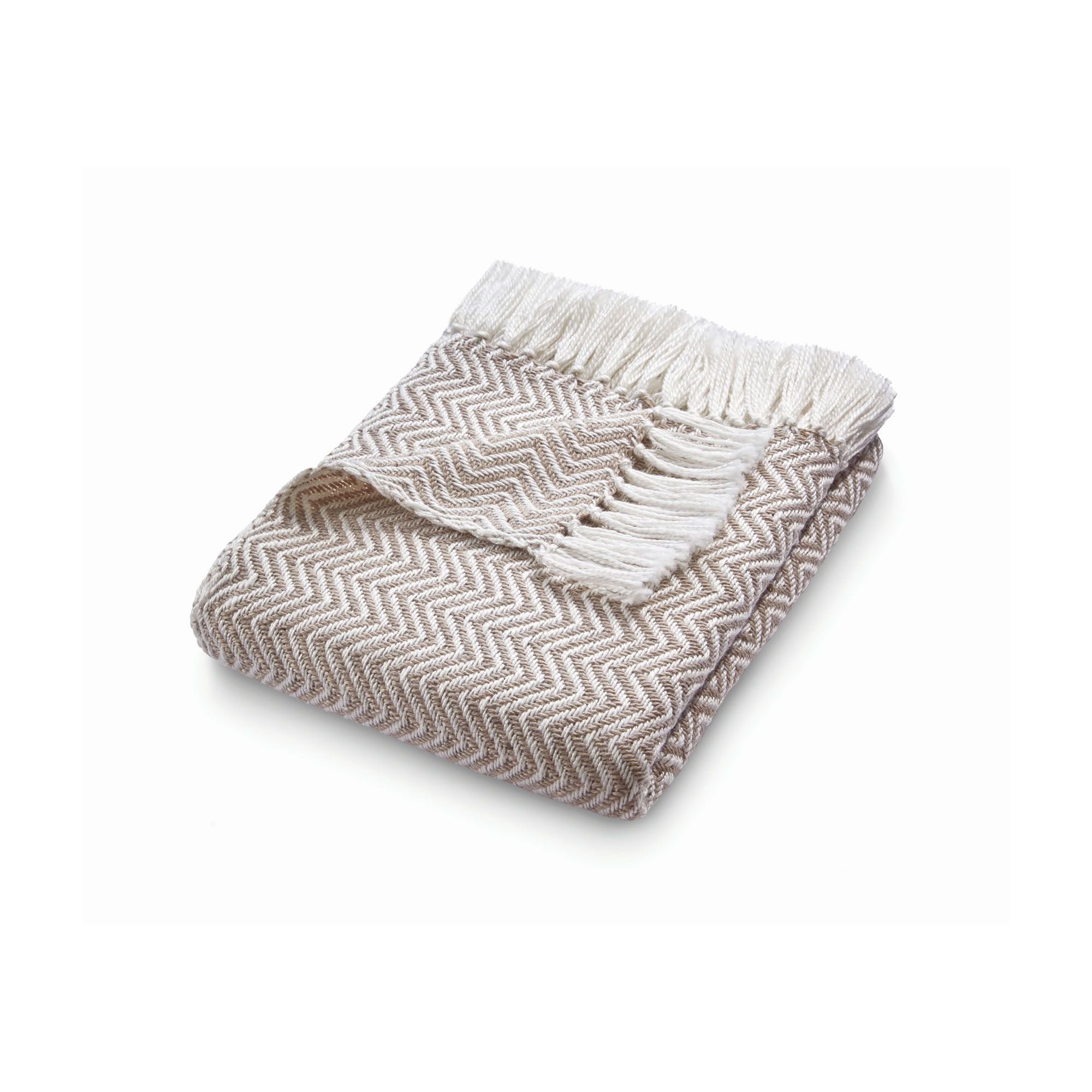 Eco-friendly throw, natural