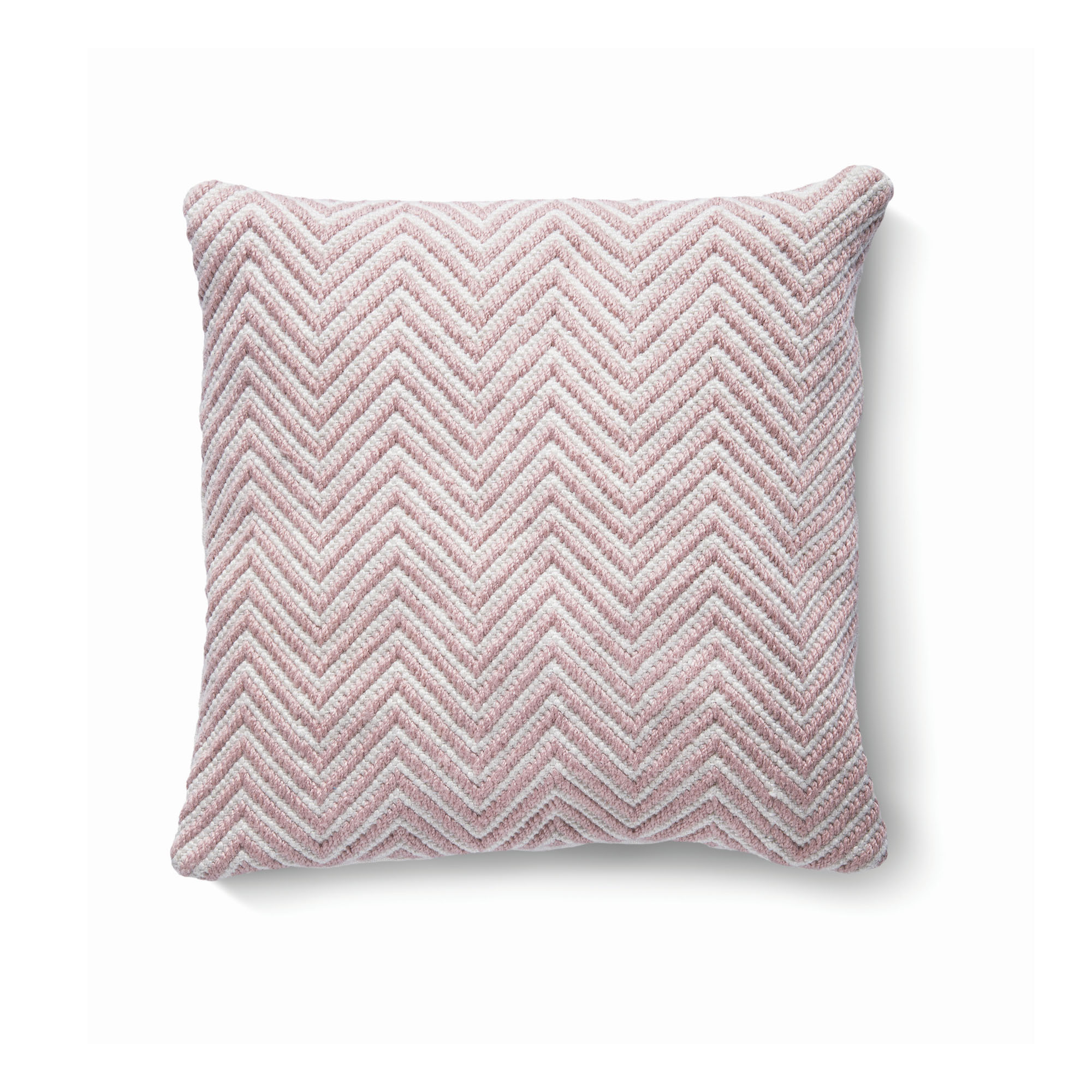 Rose pink cushion