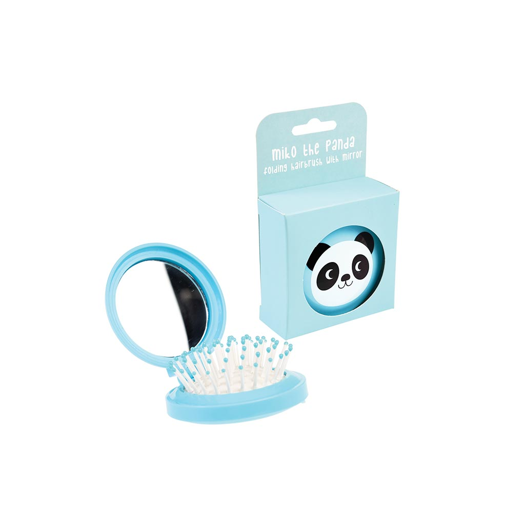 Panda Compact Brush and mirror
