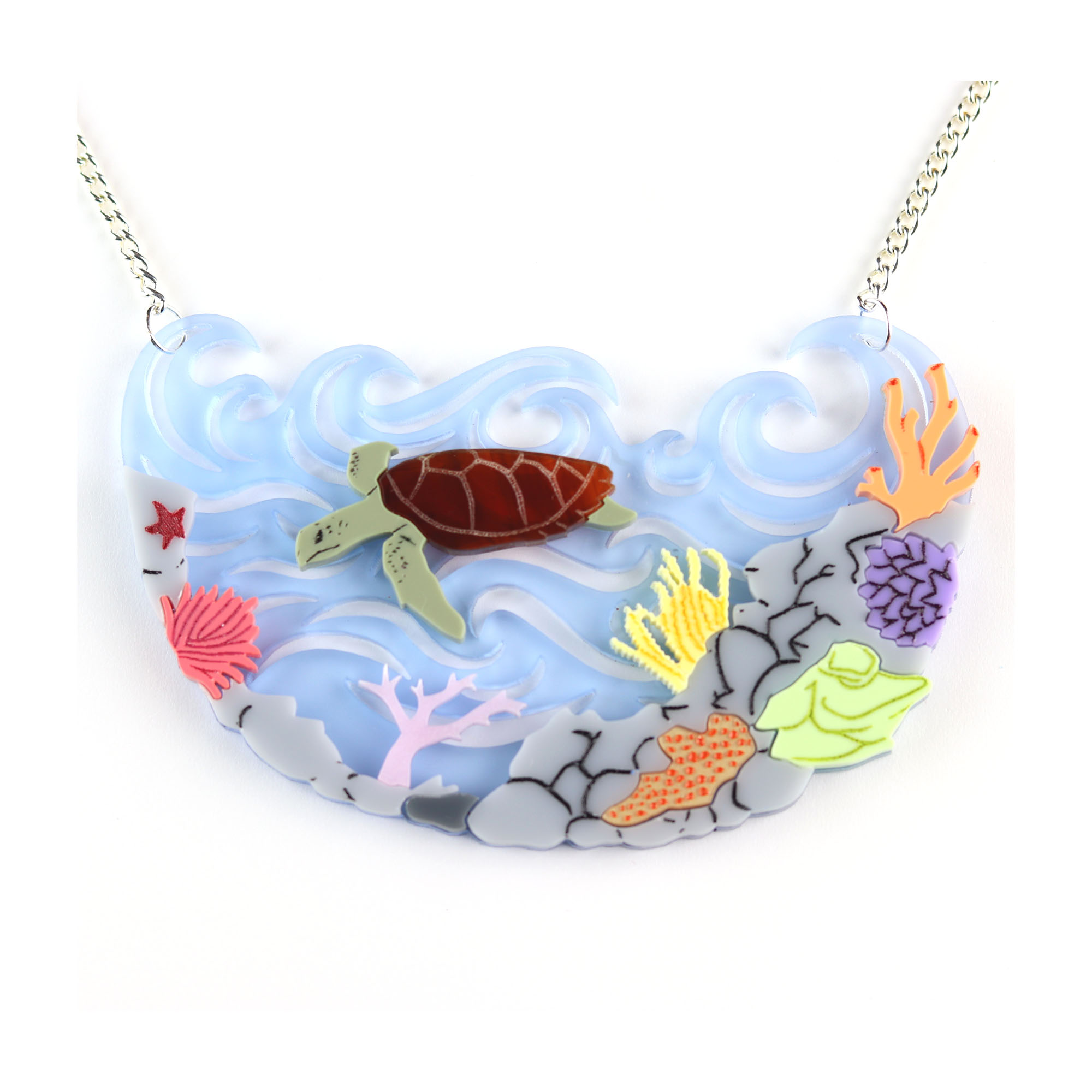 Kimchi & Coconut great barrier reef necklace