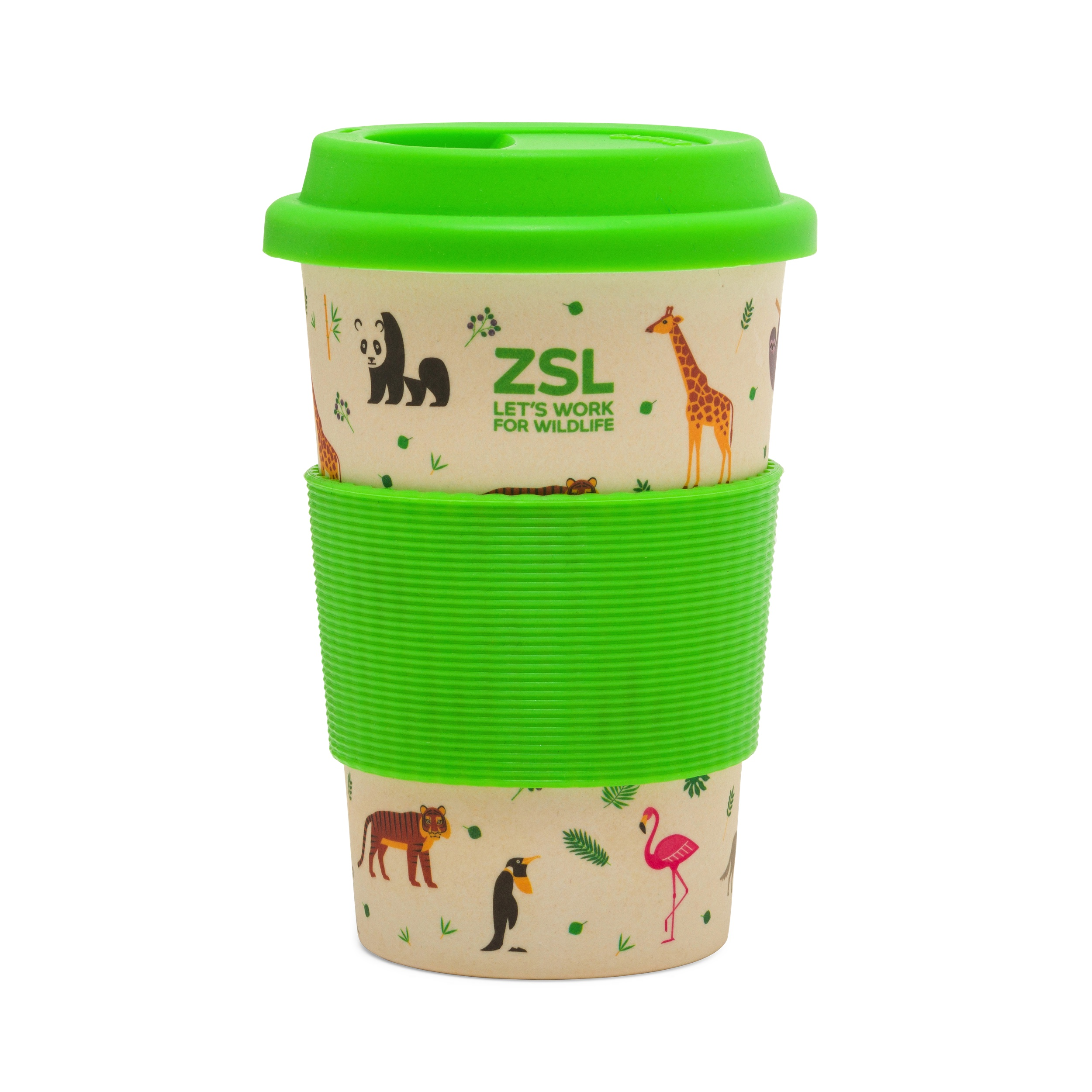 Safari Bamboo Travel Mug