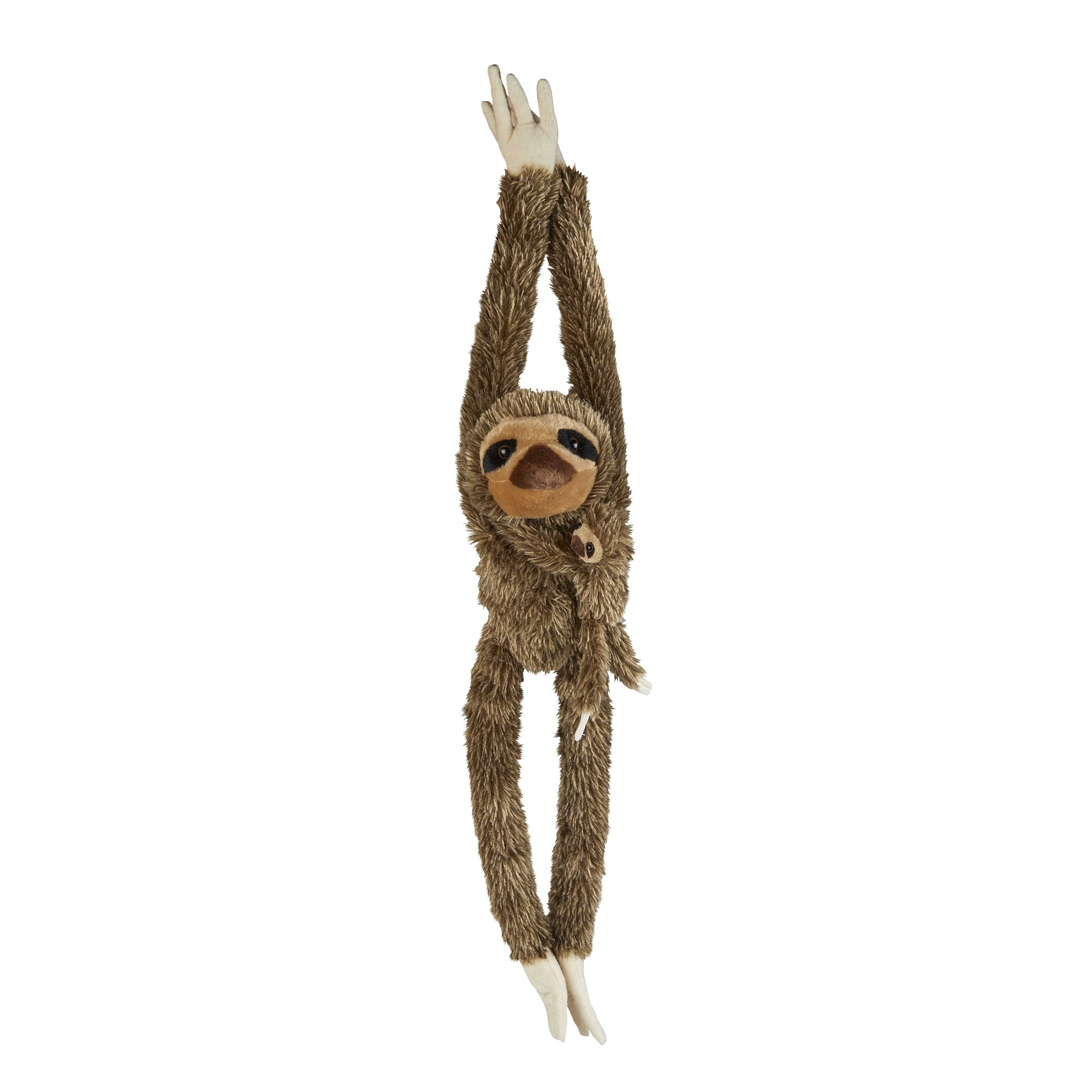 Sloth and baby soft toy