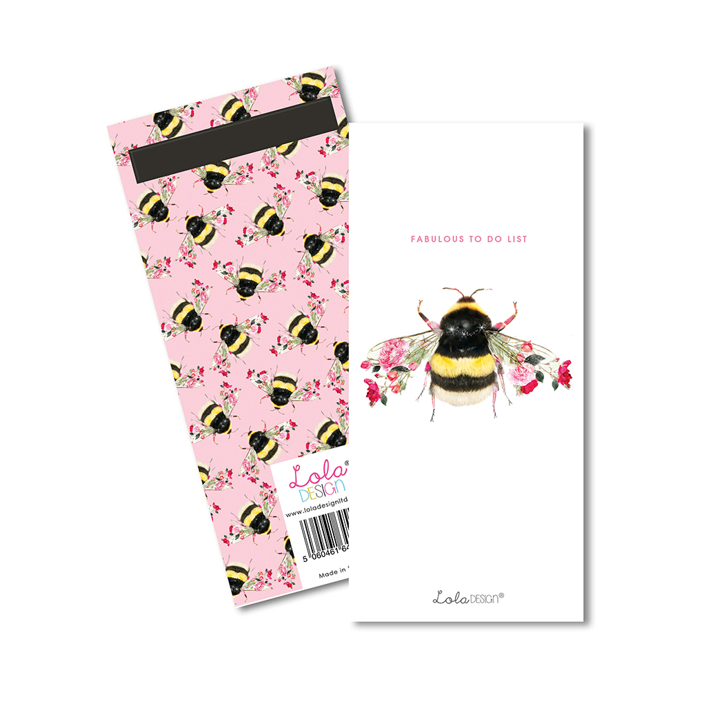 Bee to do list notepad