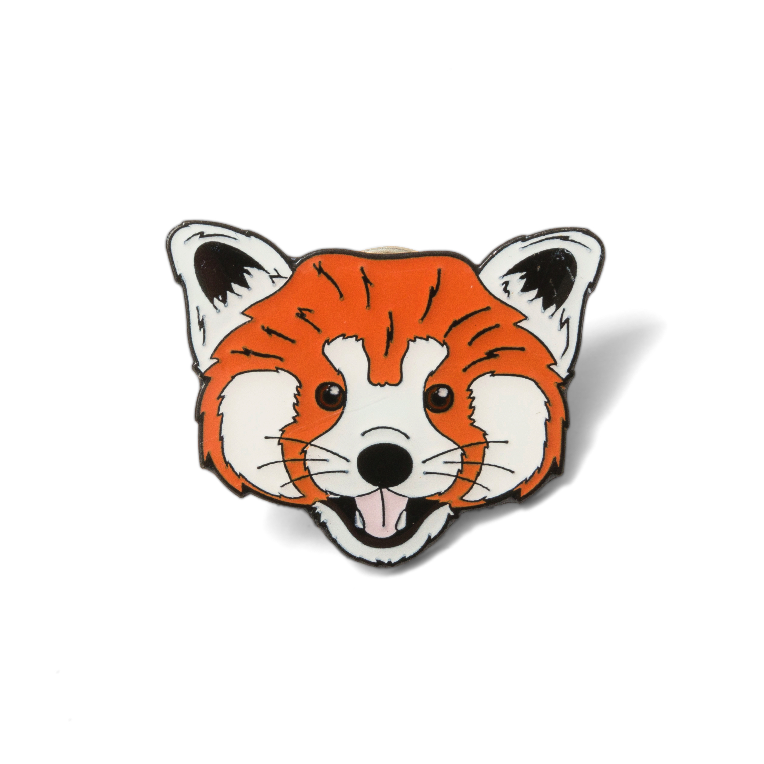 Red Panda Pin Badge