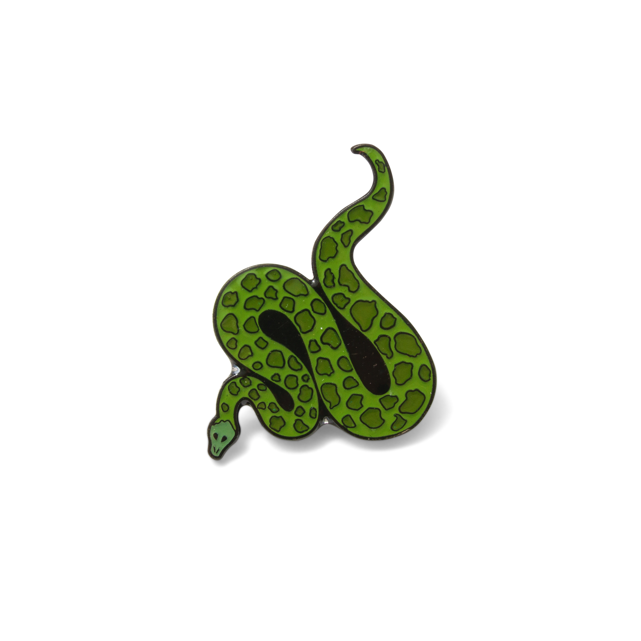 Snake Pin Badge