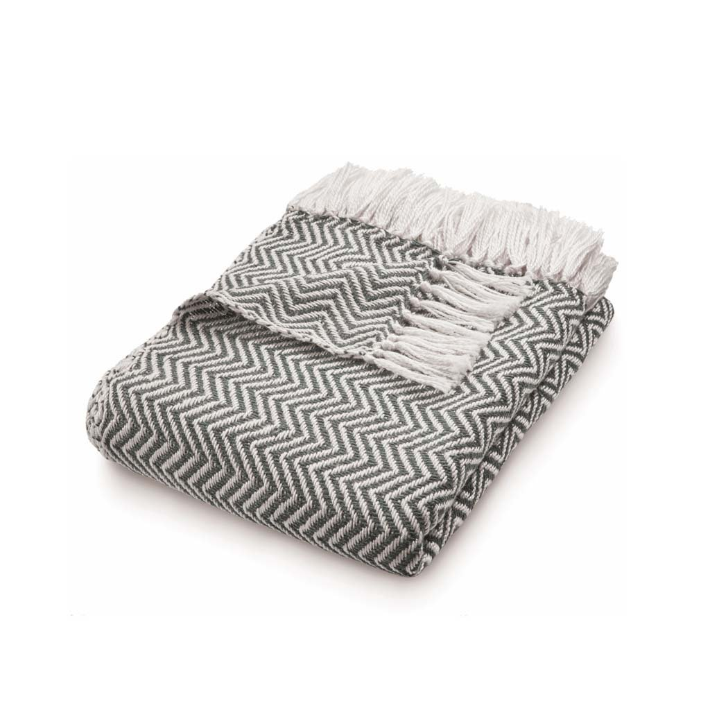 Warm grey Throw