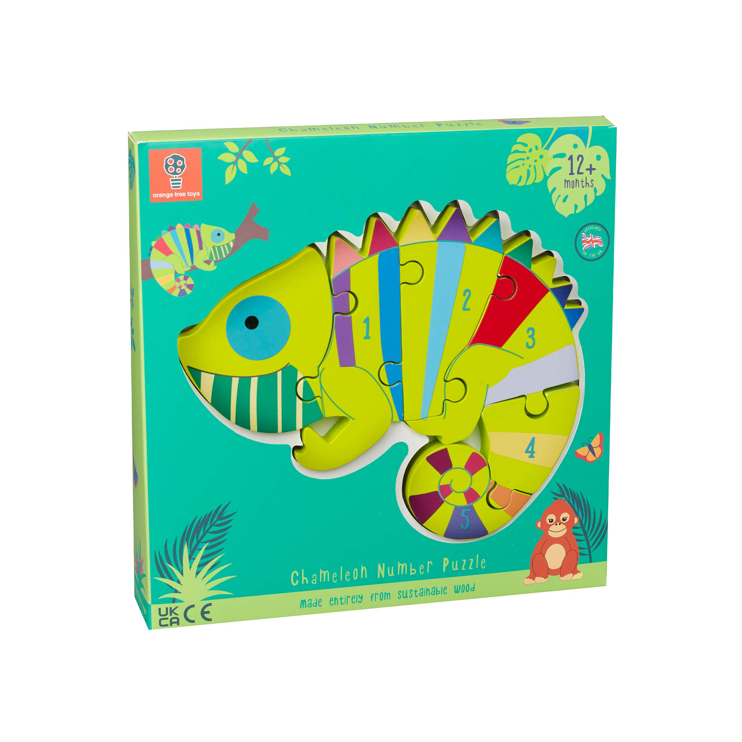Chameleon Number Puzzle boxed