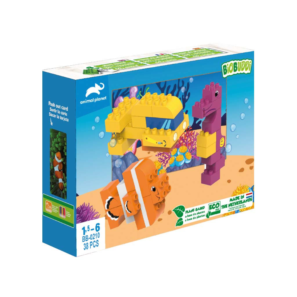 BioBuddi Animal Planet Submarine Blocks box