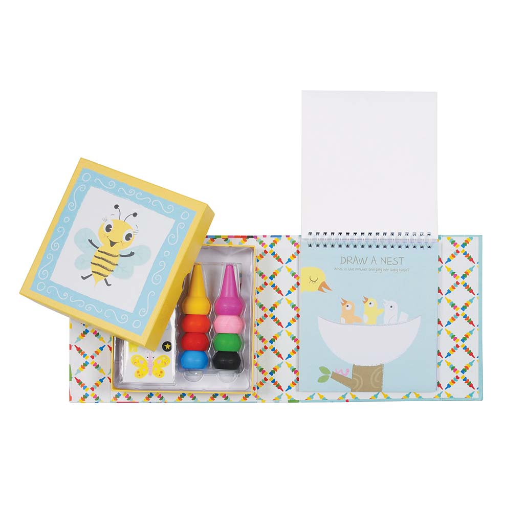 Animals Oodles Doodle Crayon Colouring Set