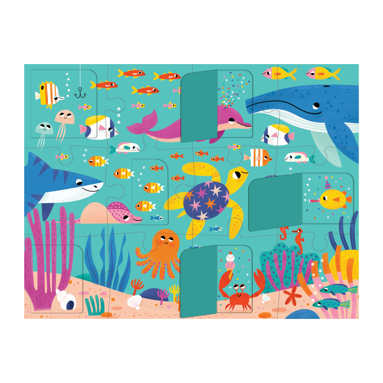 Ocean Lift-the-Flap Puzzle pc