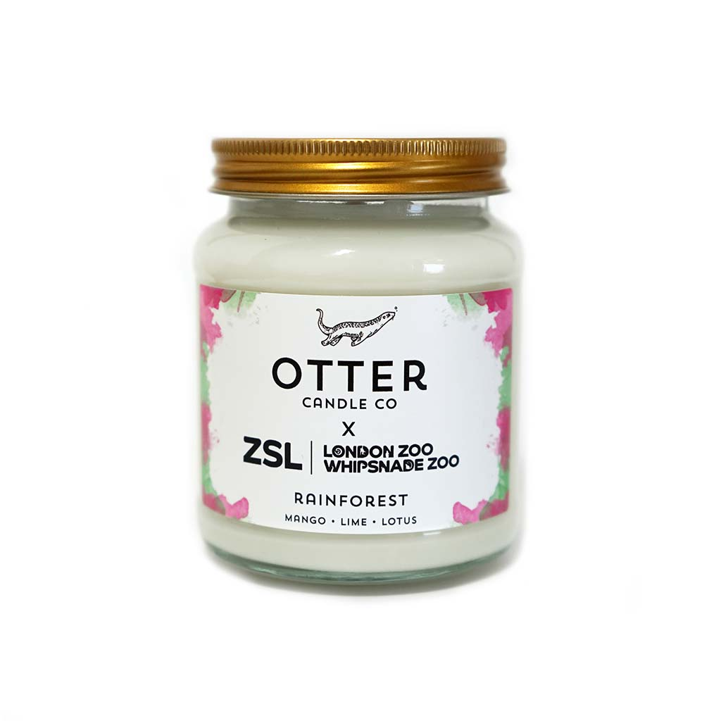 Otter Candle Co Rainforest Candle