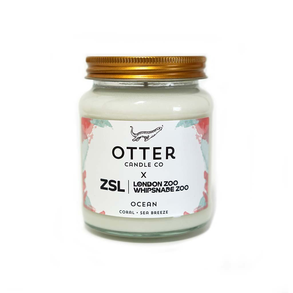 Otter Candle Co Ocean Candle