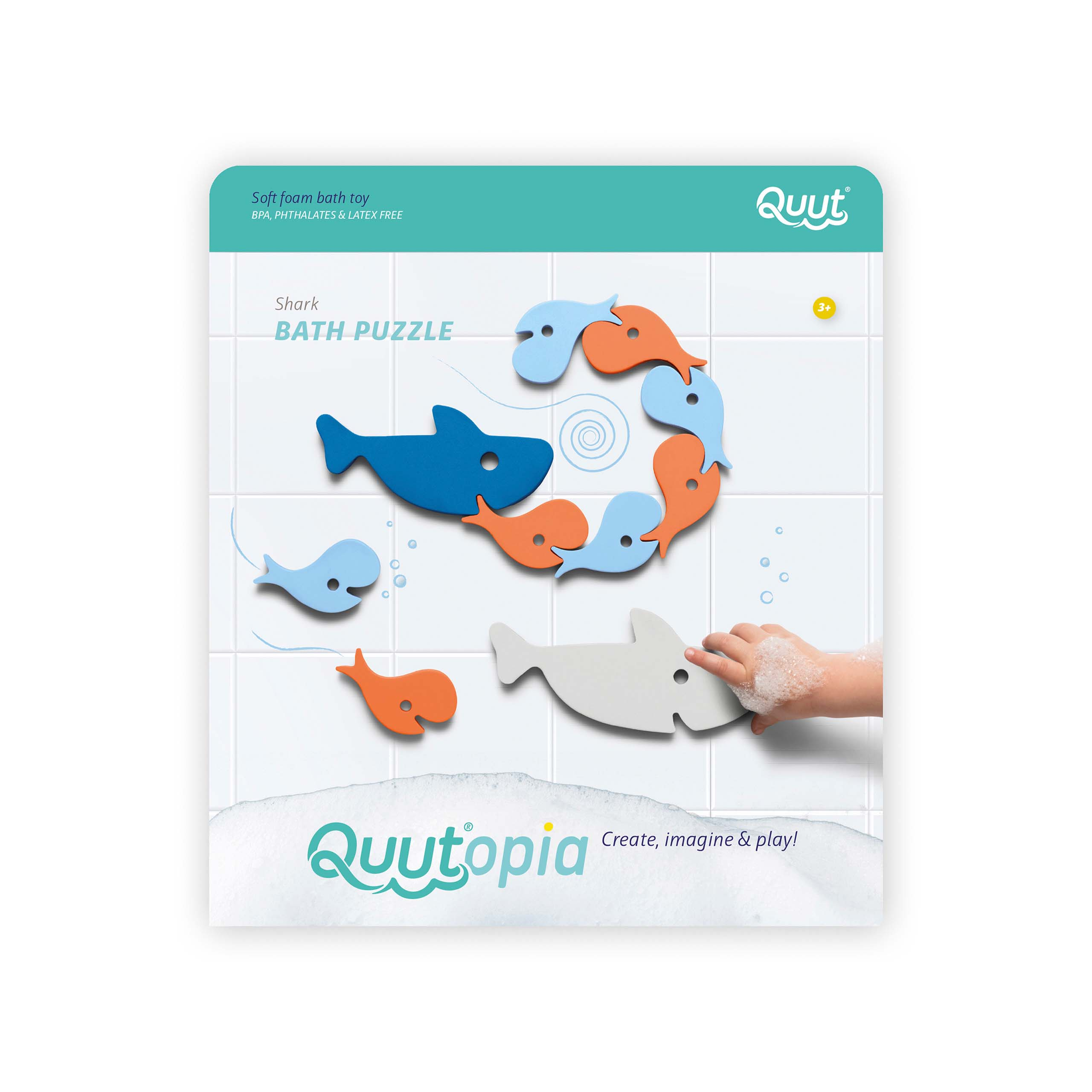 Shark Bath Toy Puzzle pack