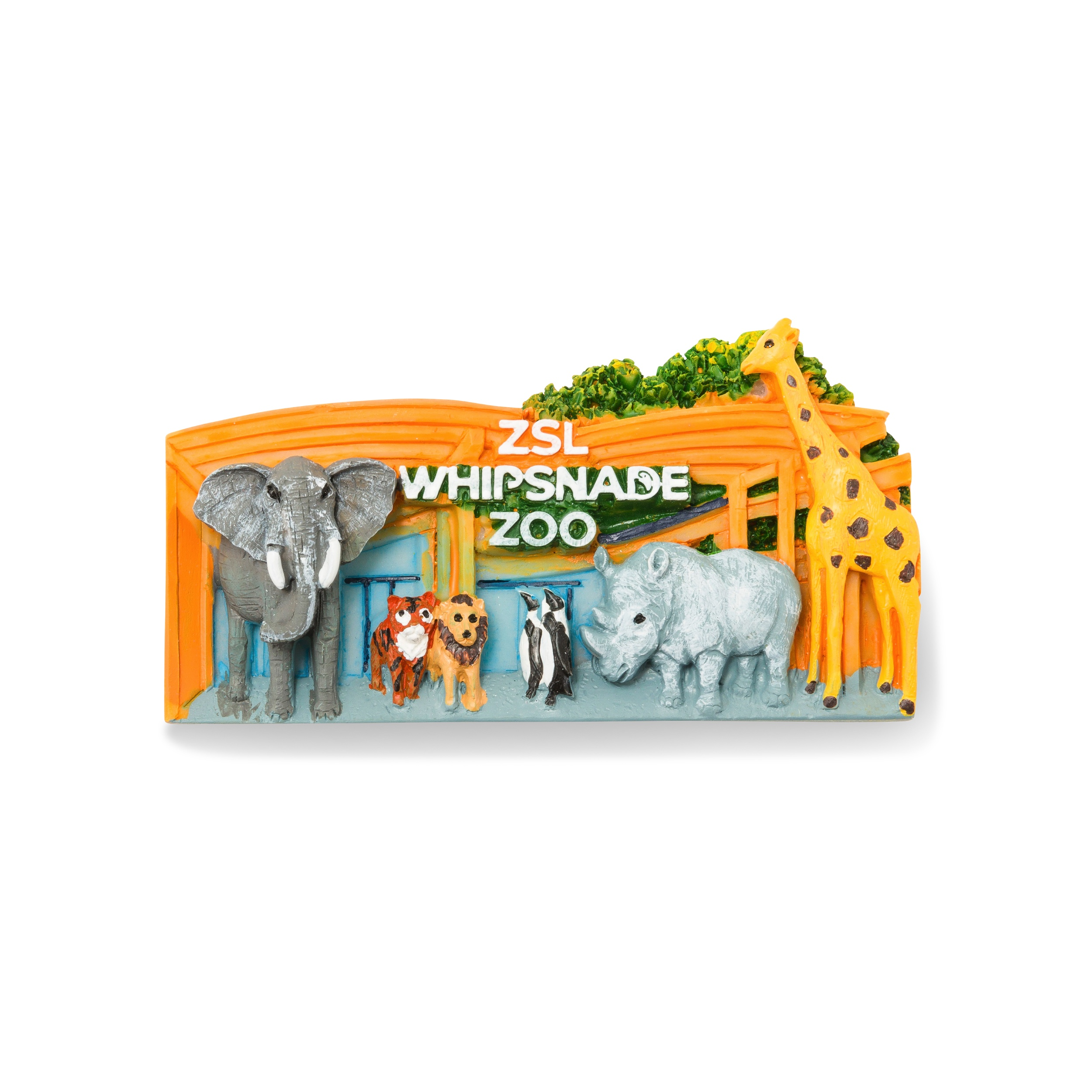 ZSL Whipsnade Zoo Gates Magnet