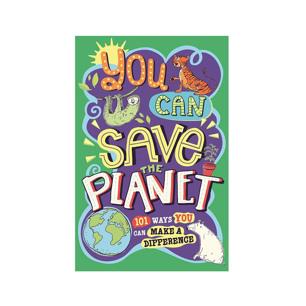 You Can Save The Planet Book