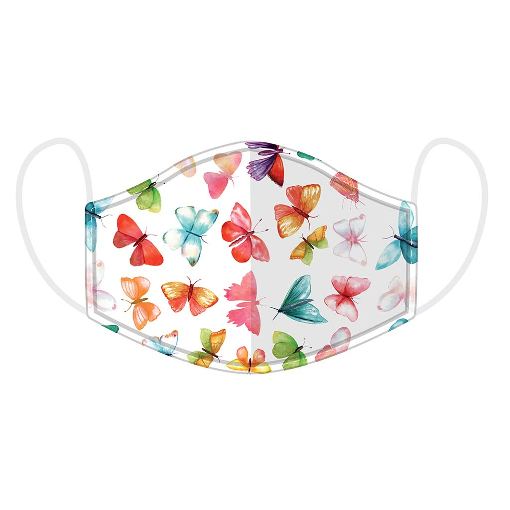Reusable Butterfly Face Mask, Adult
