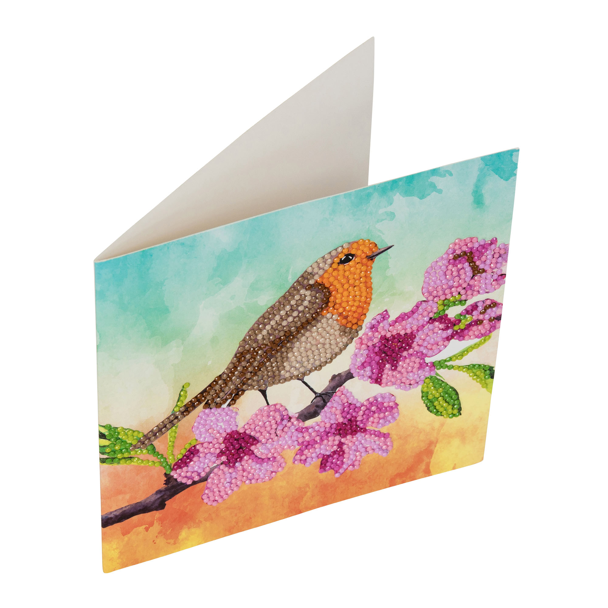 Robin Crystal Card Kit