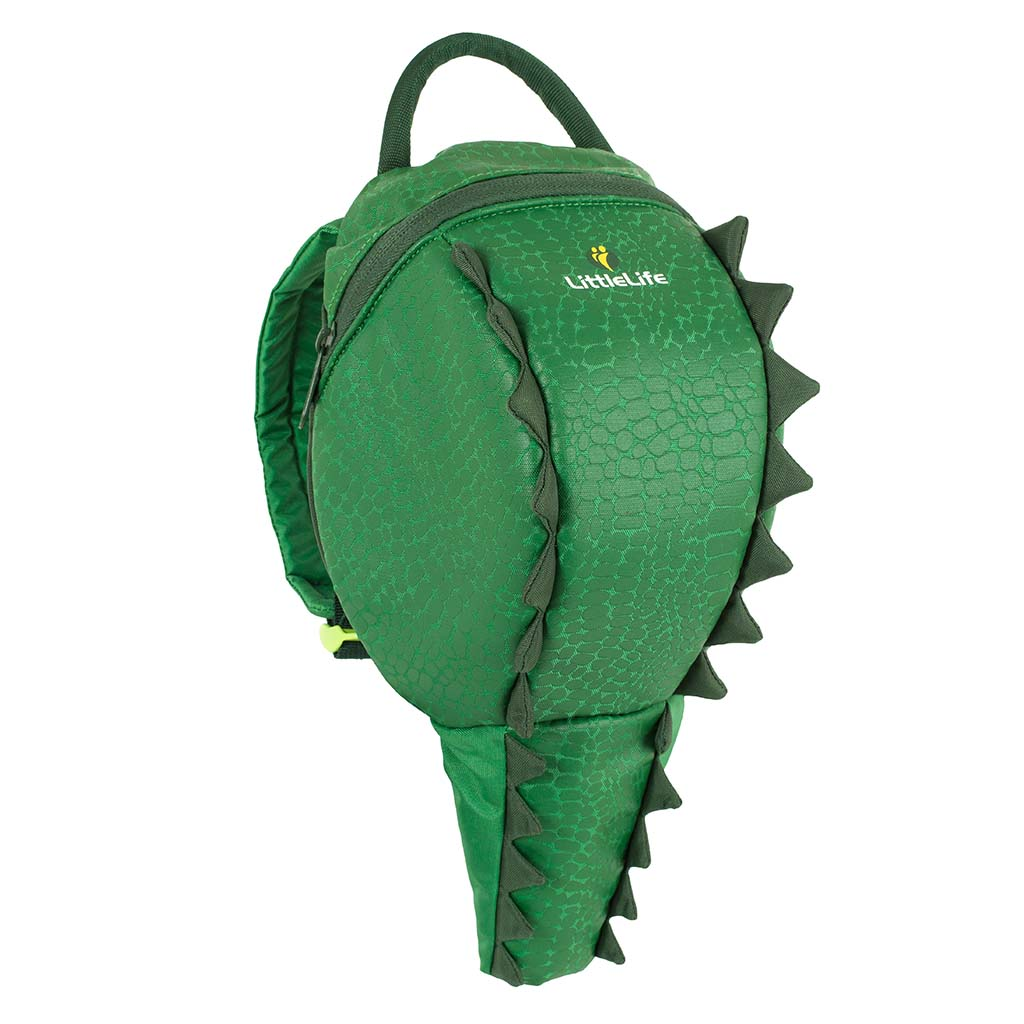 Crocodile toddler backpack with reins