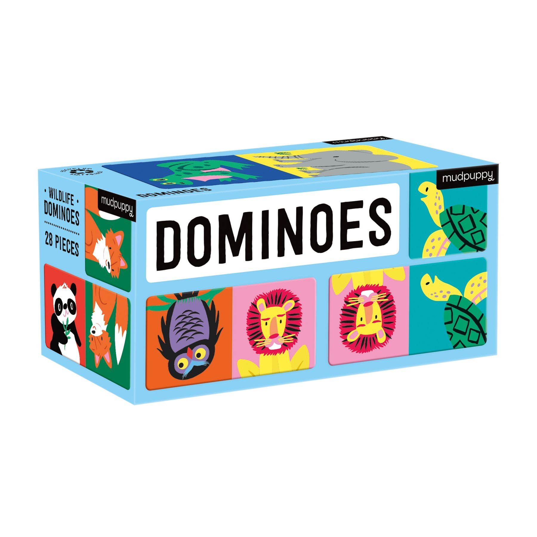 Wildlife Dominoes Game
