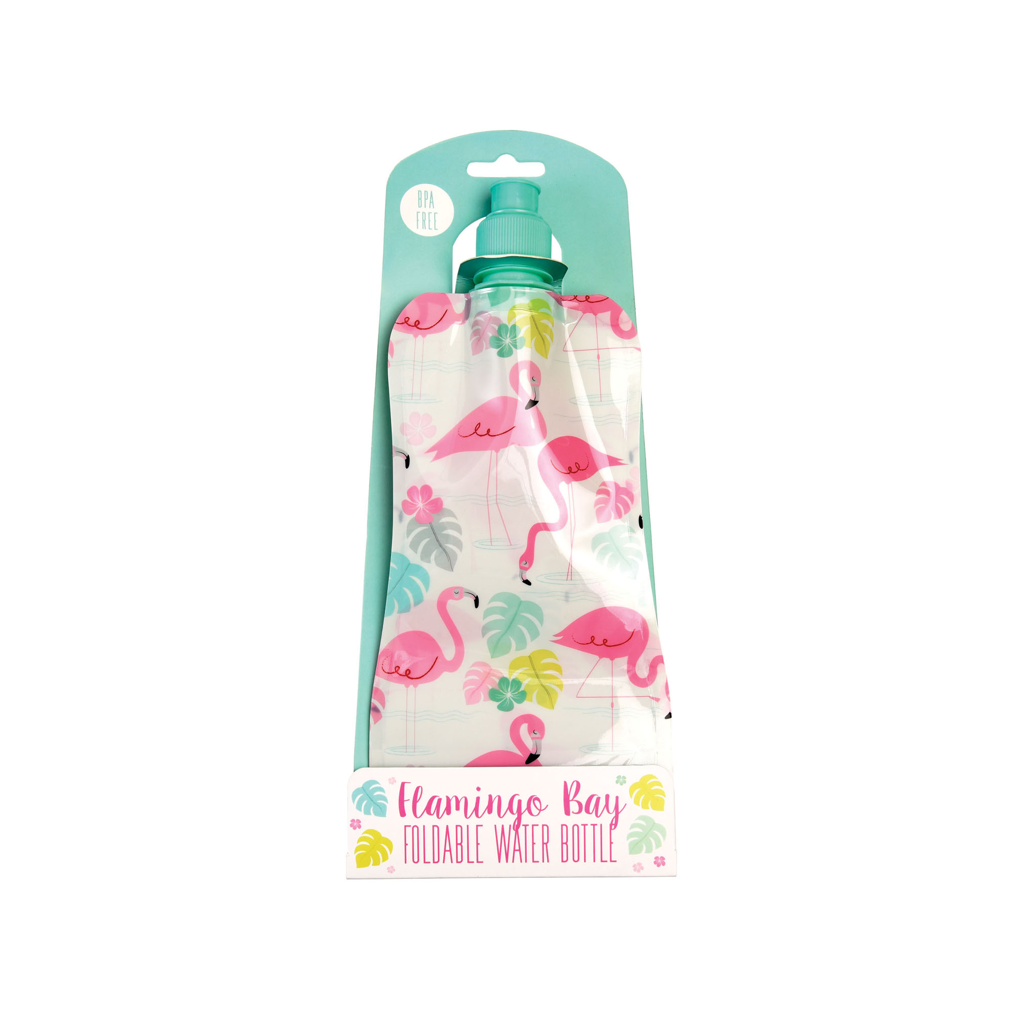 Flamingo Foldable Water Bottle