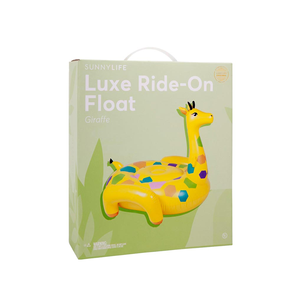 Sunnylife Ride-on Giraffe Float box
