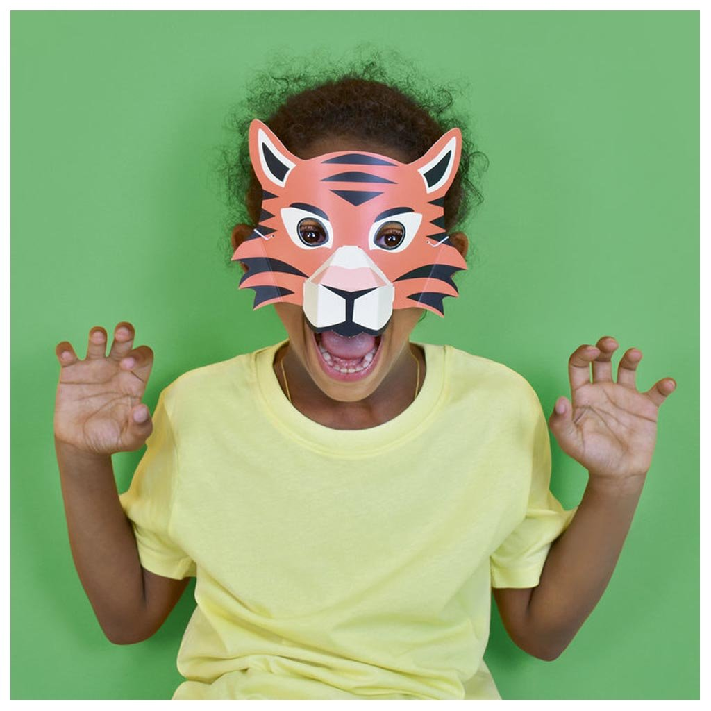 Create Your Own Animal Masks lifestyle