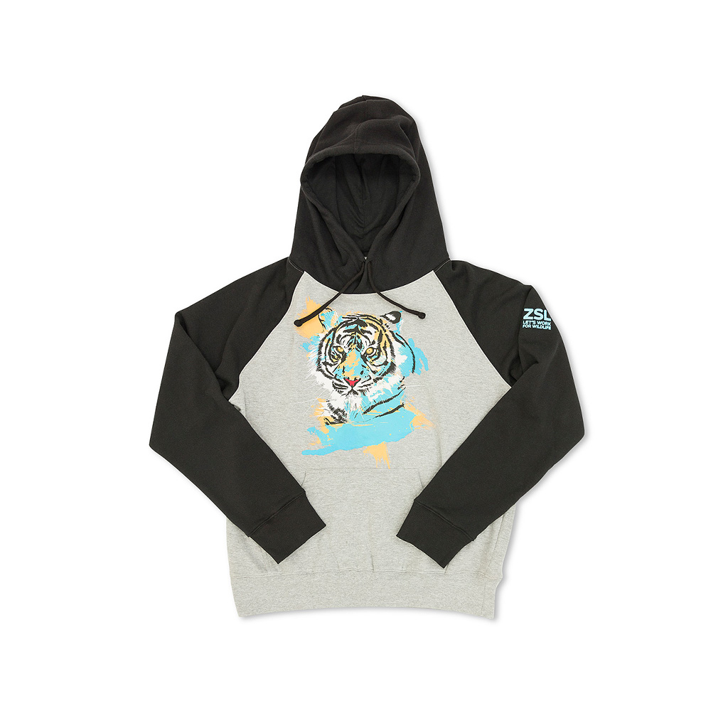 Children's Tiger Hoodie, 3-4yrs