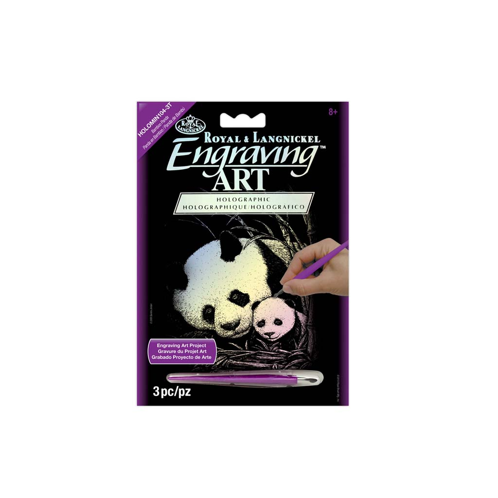Panda engraving kit