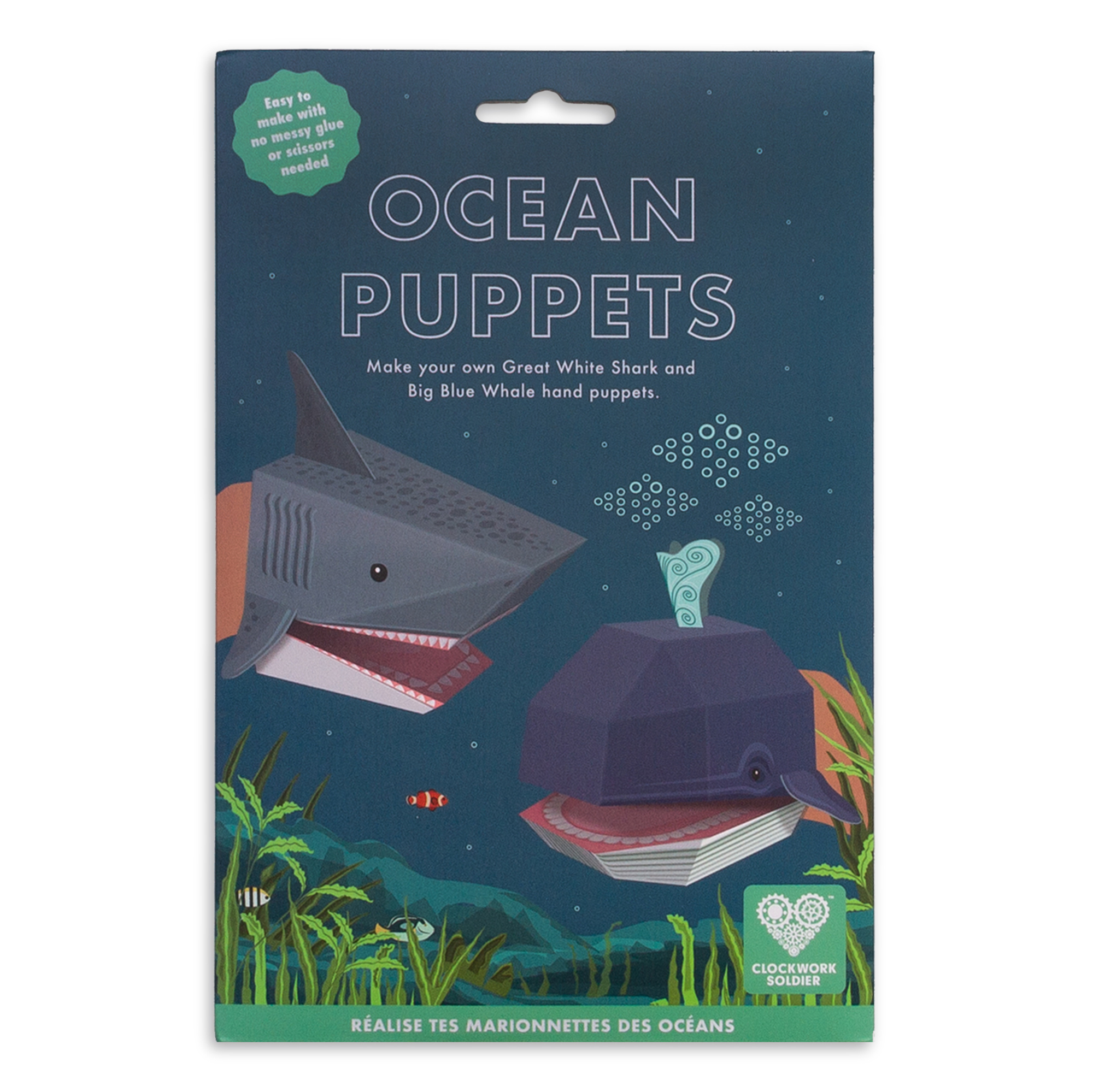 Create Your Own Ocean Puppets pack