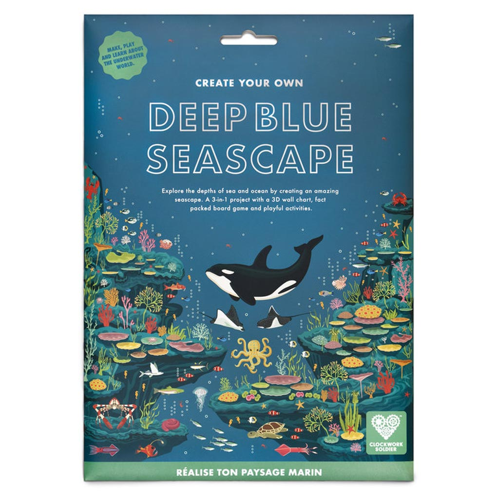 Create Your Own Deep Blue Seascape Game pack