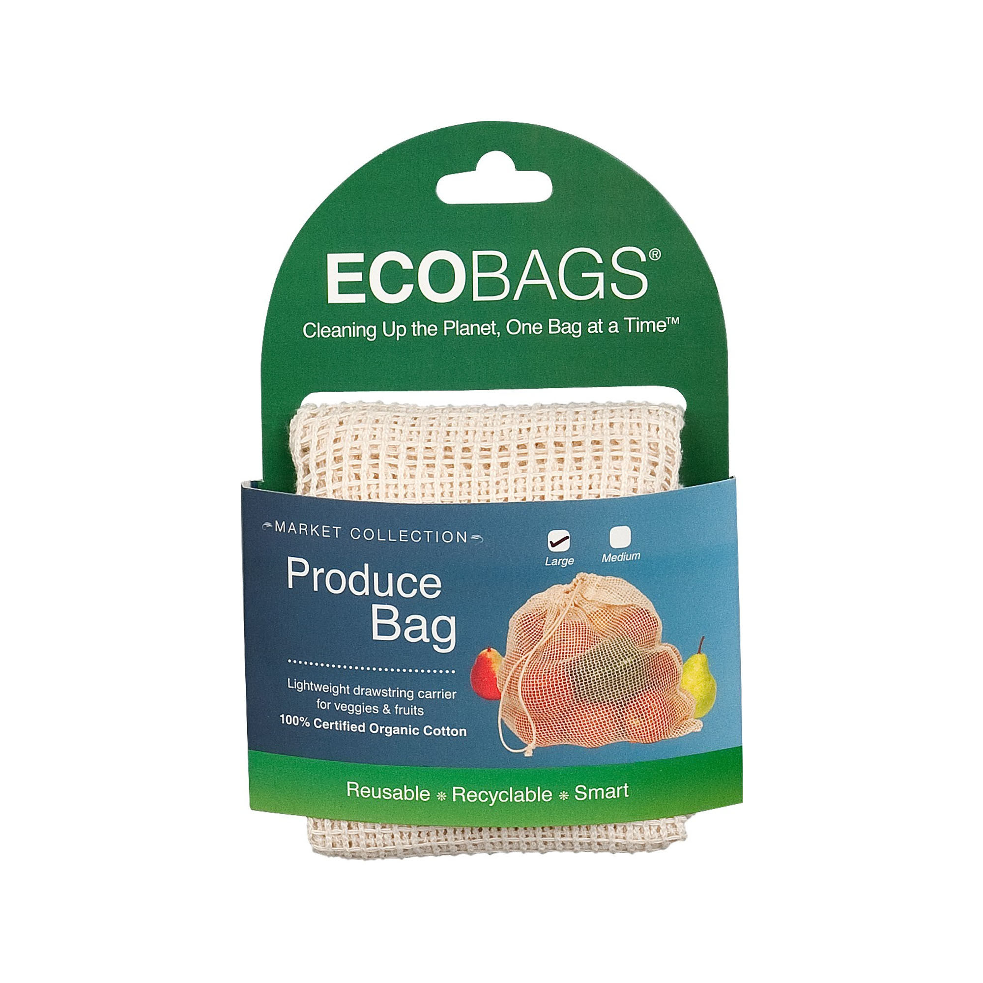 Organic grocery net bag