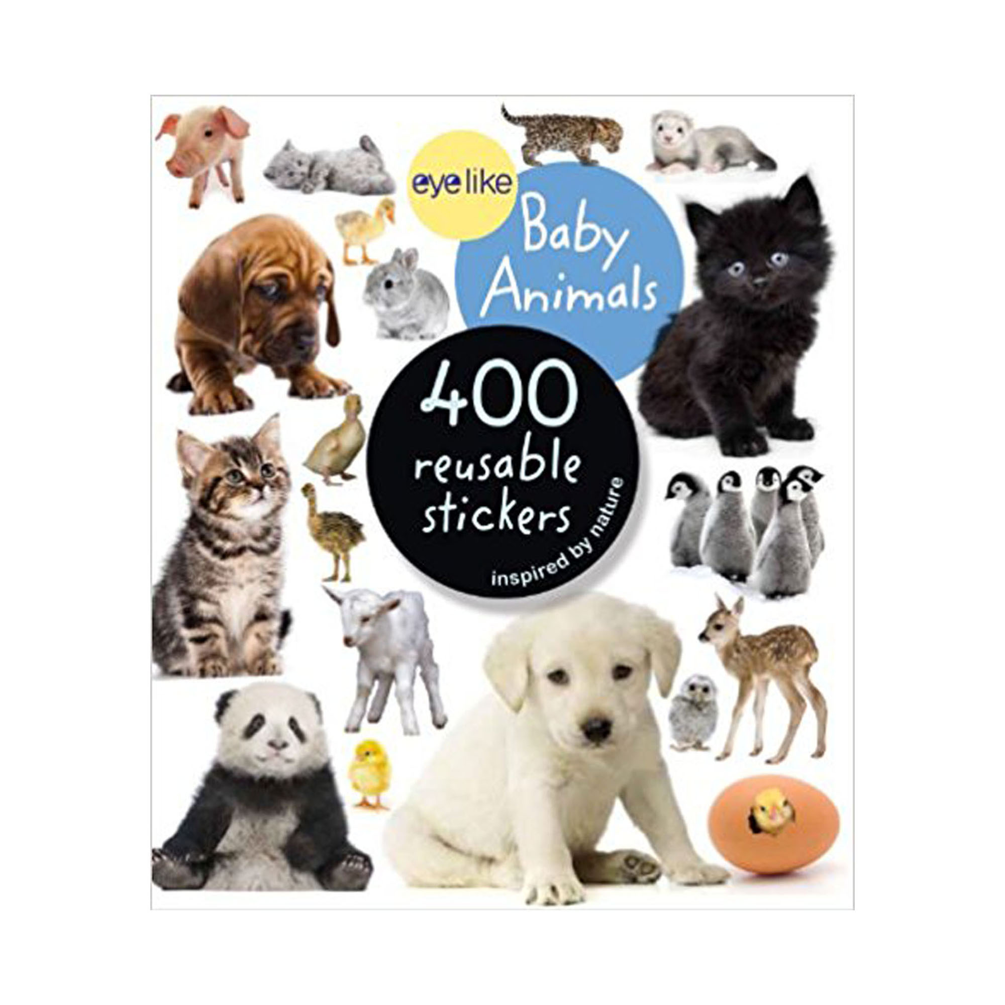 Eyelike baby animals book